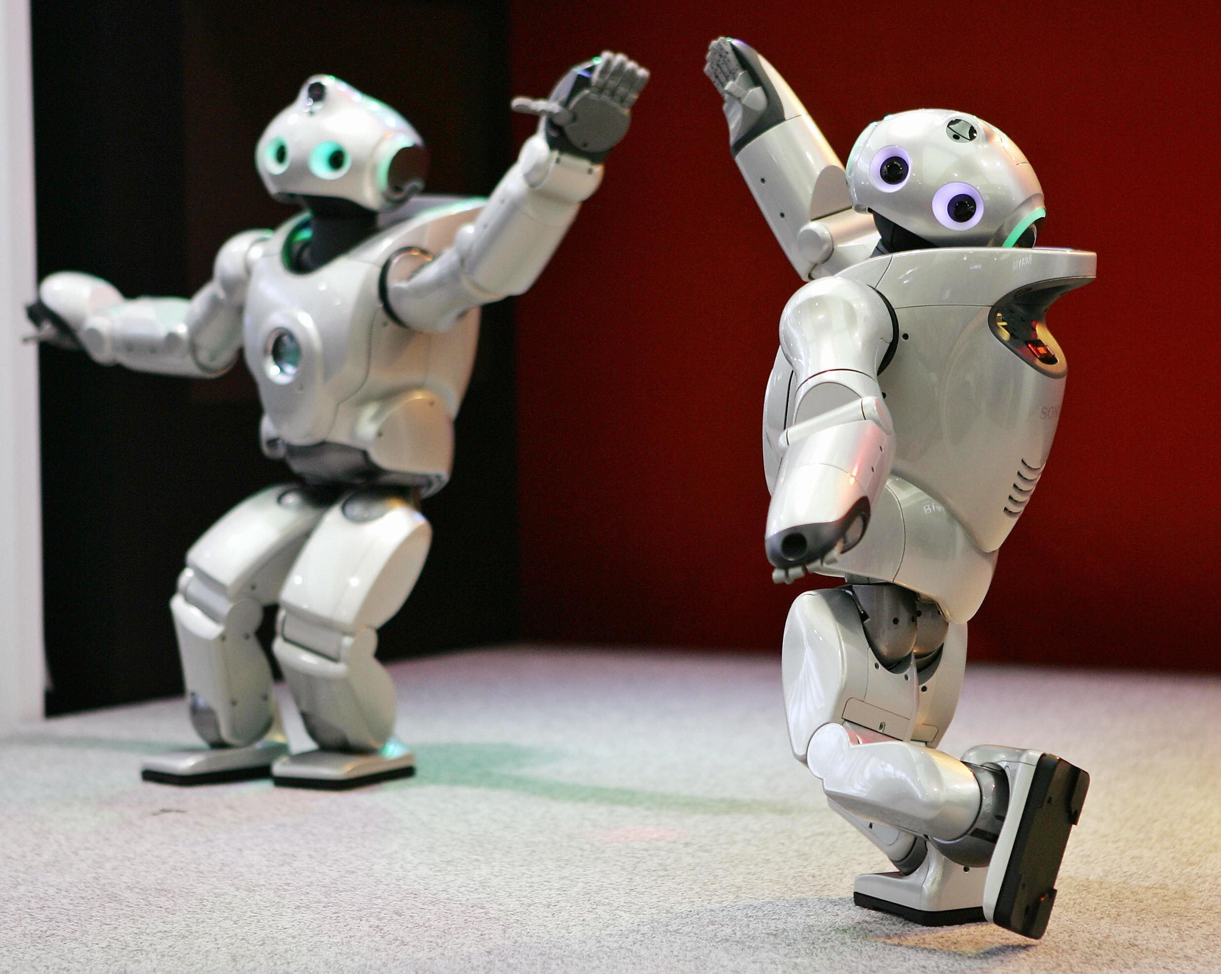Japanese electronics giant Sony's humano