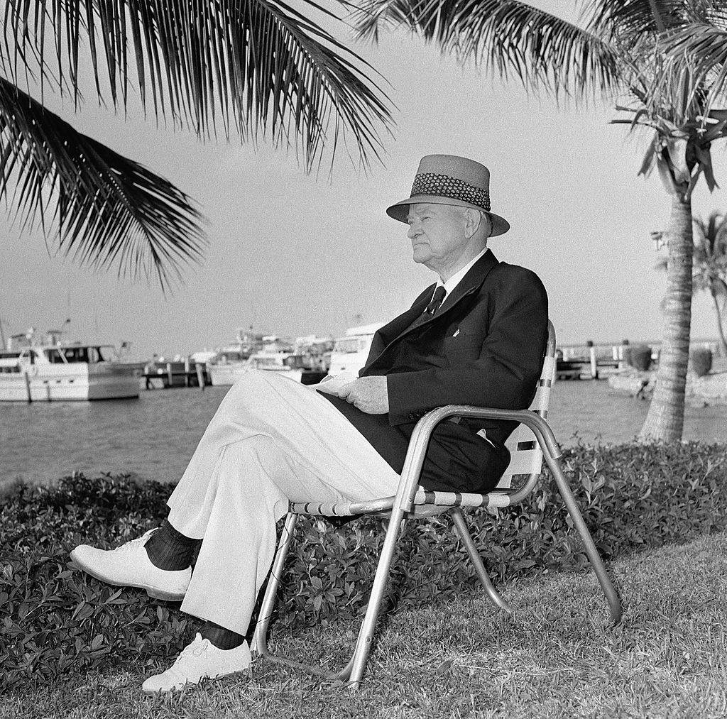 Herbert Hoover In Repose