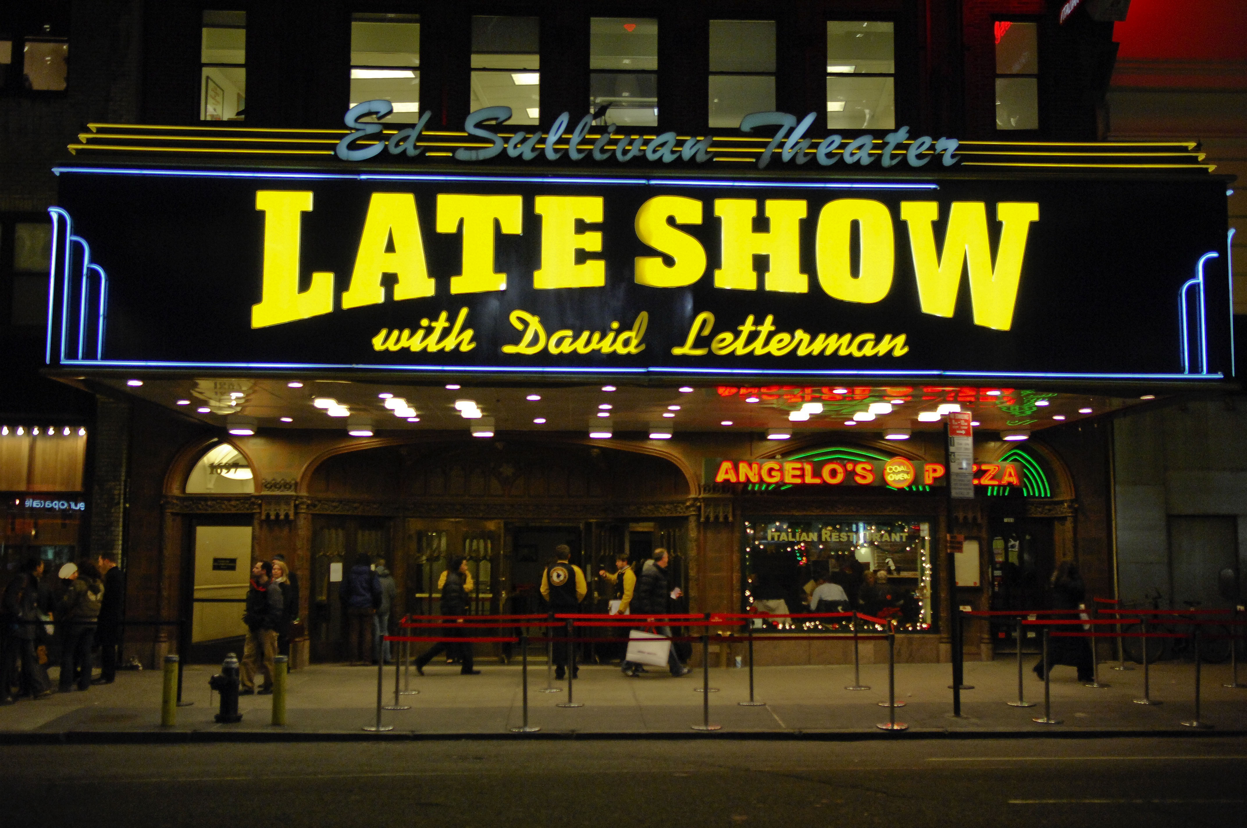 The Late Show With David Letterman Resumes Filming