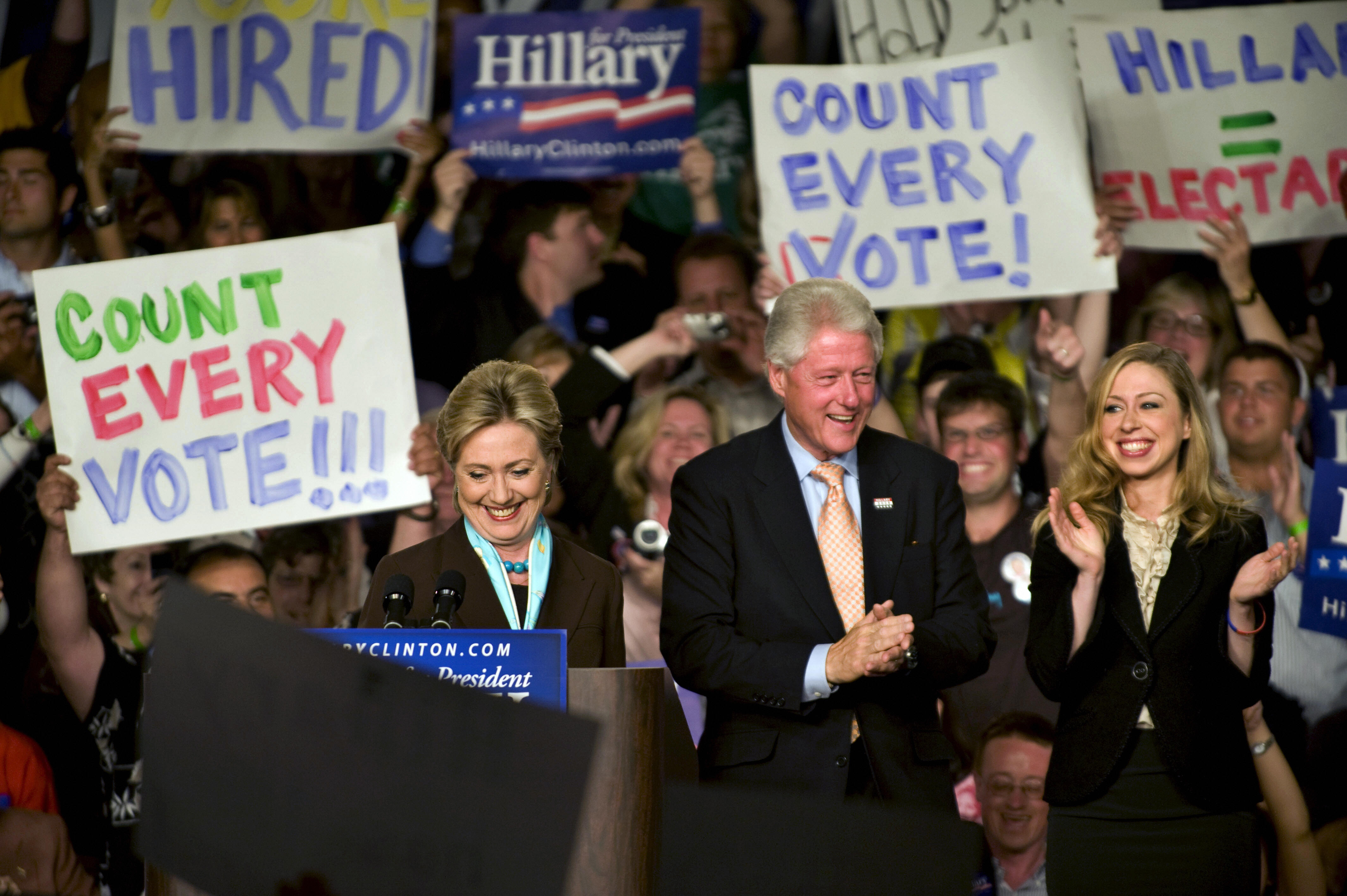 Democratic presidential hopeful New York