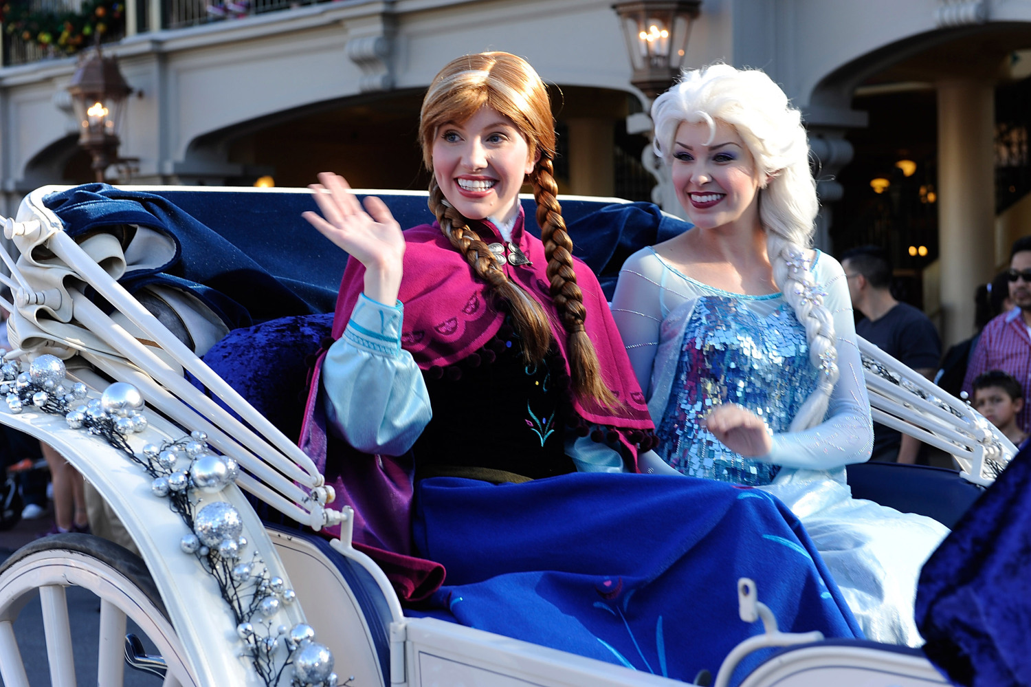 Anna and Elsa star in the new Frozen Ever After attraction at Walt Disney World's Epcot theme park.