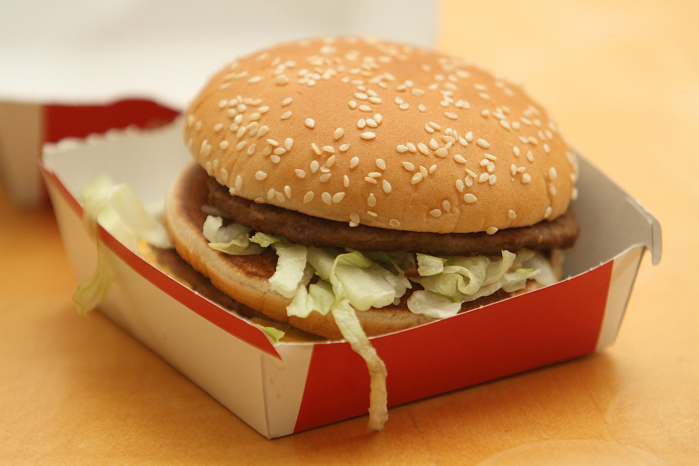 Allergic Expectant Mother Forced To Live On Big Macs