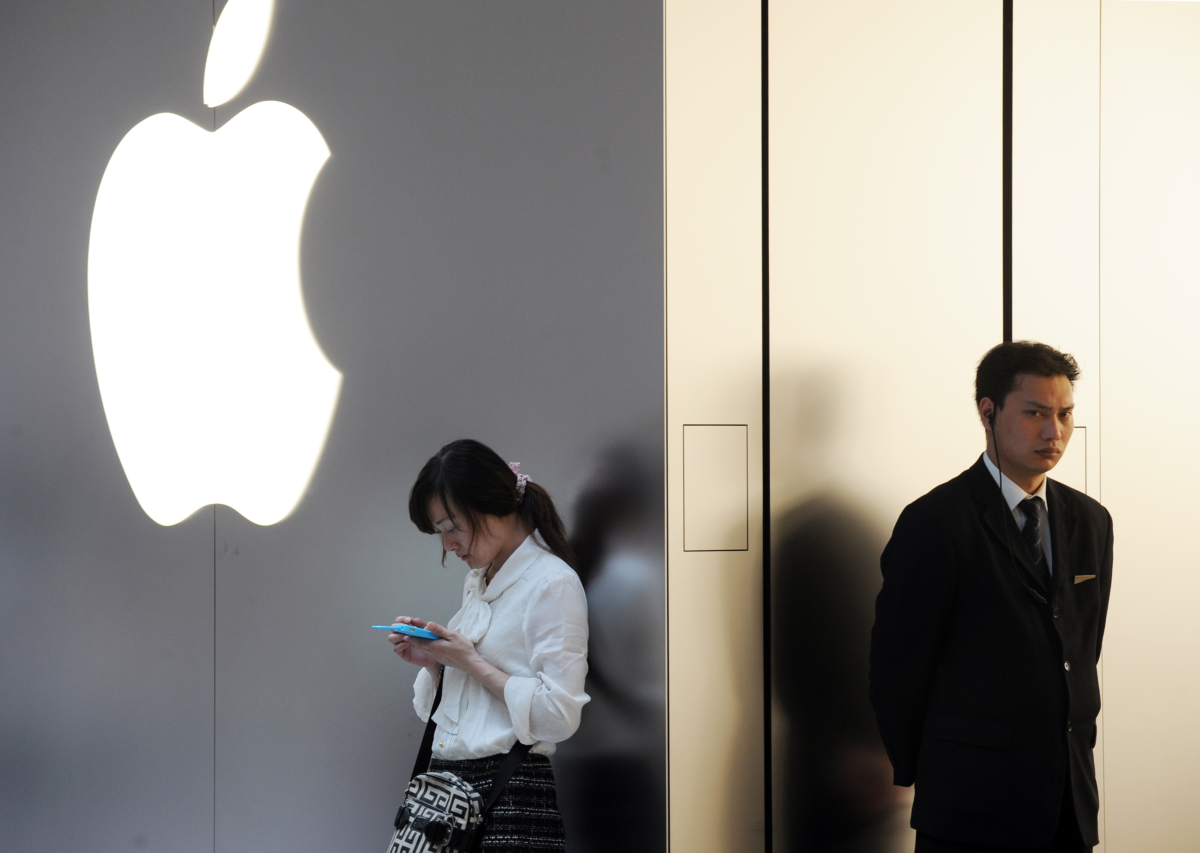 CHINA-US-INTERNET-COMPANY-APPLE