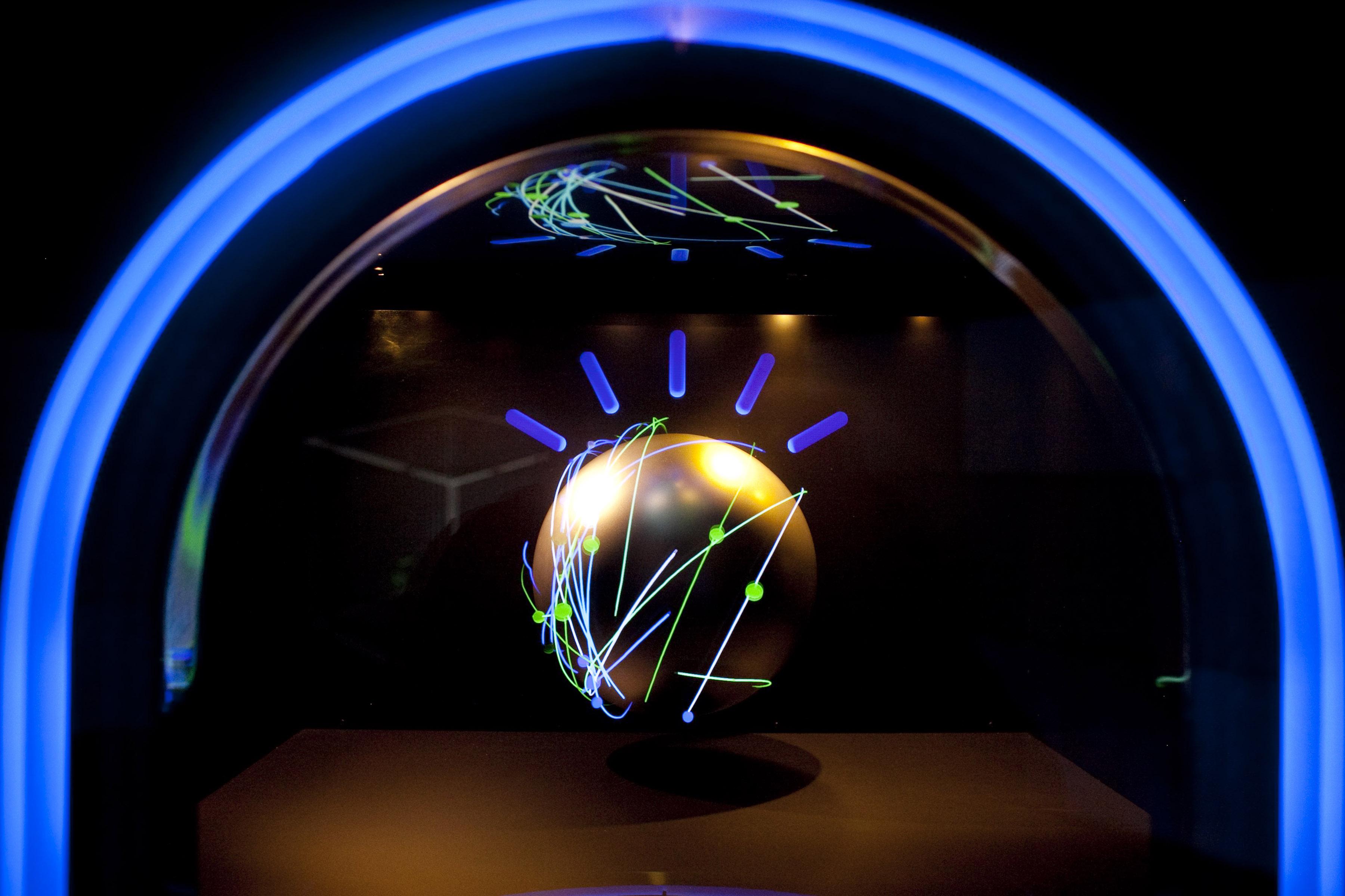 Watson computer at IBM in New York City