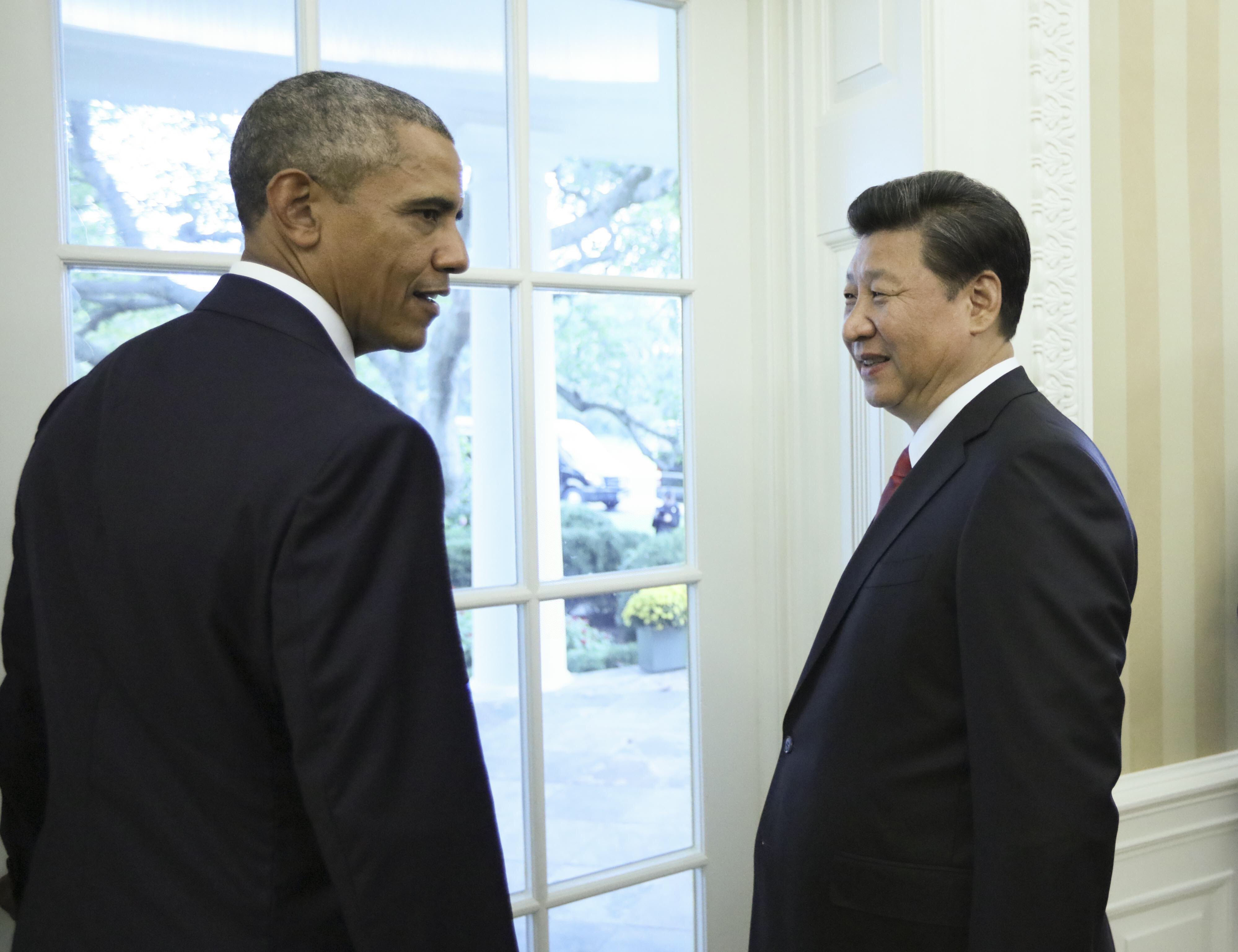 U.S.-WASHINGTON D.C.-CHINA-XI JINPING-BARACK OBAMA-PRESS