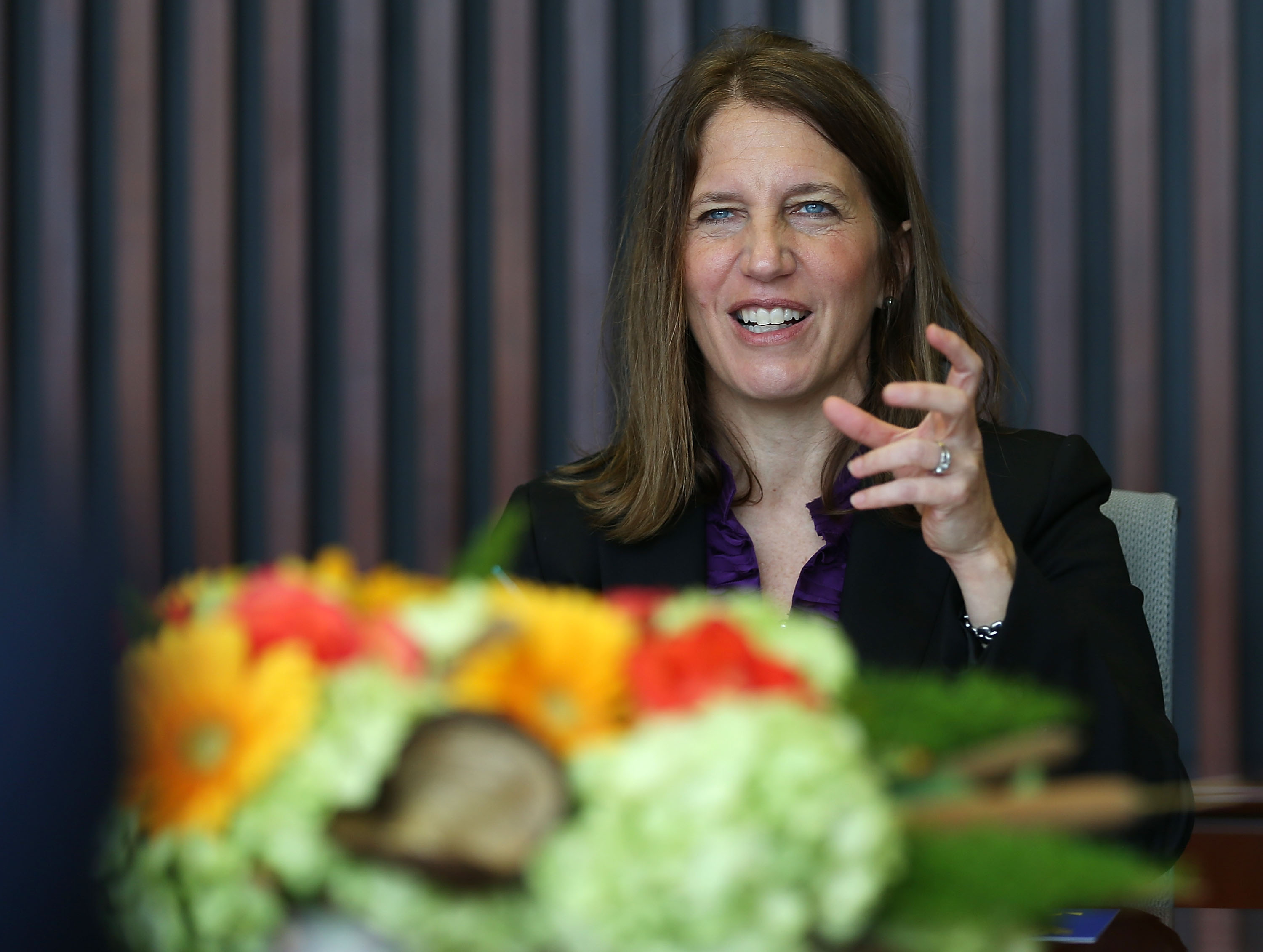 HHS Secretary Burwell Speaks On Open Enrollment Insurance Period At Miami Dade College