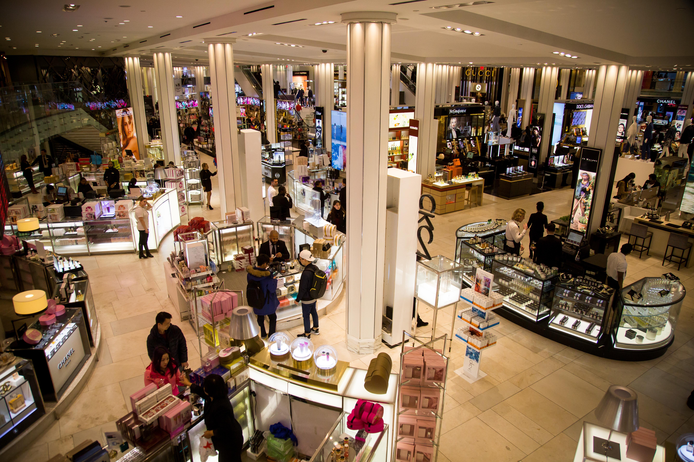 Inside Macy's Inc. Department Store Ahead Of Earnings Figures