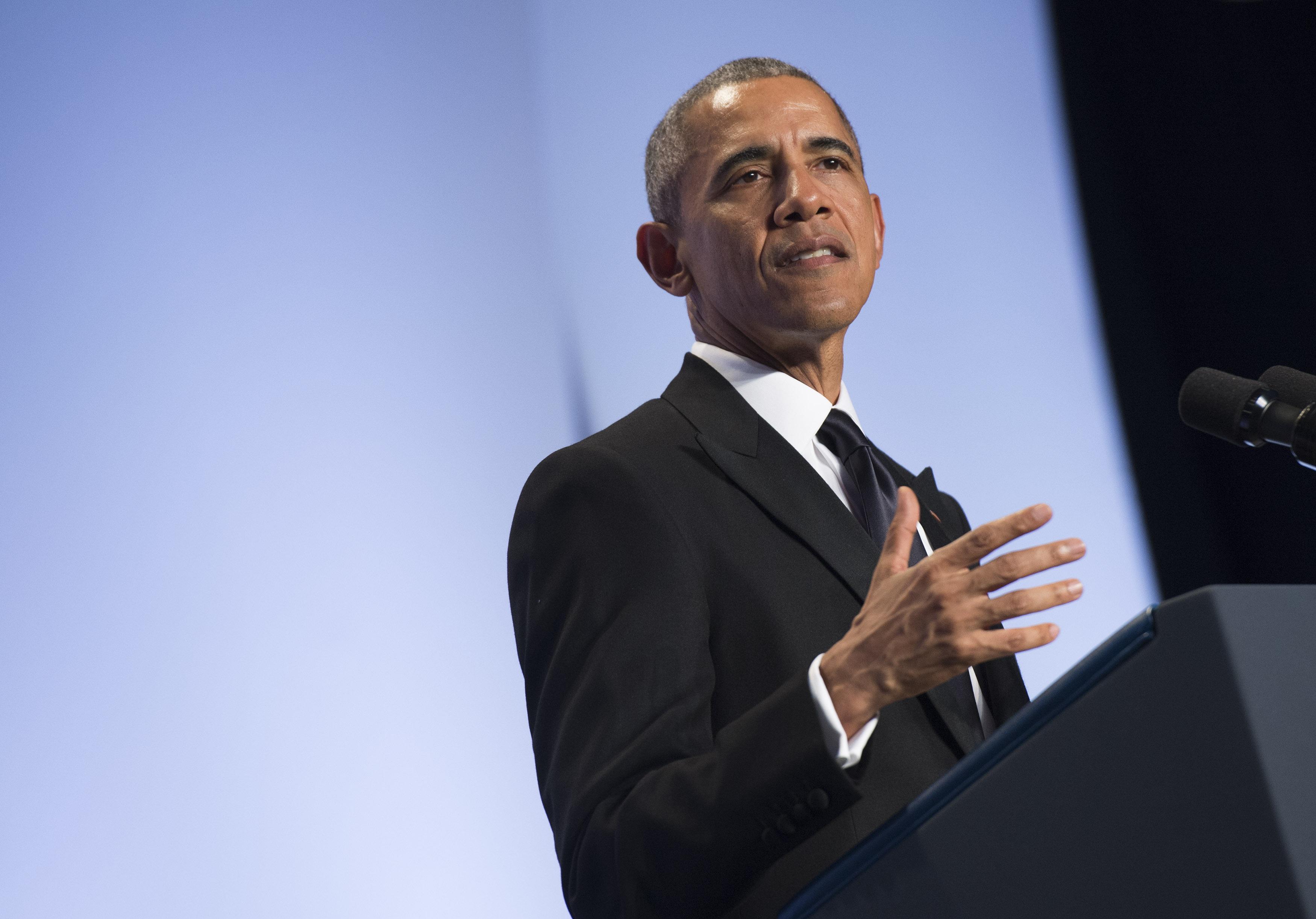 President Obama addresses the APAICS Gala in Washington, D.C.