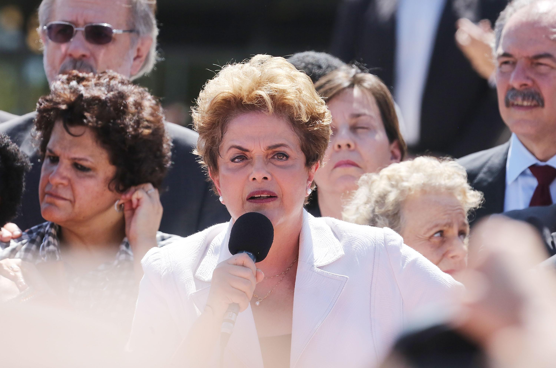 Brazil's Senate Votes To Begin Impeachment Trial Of President Dilma Rousseff