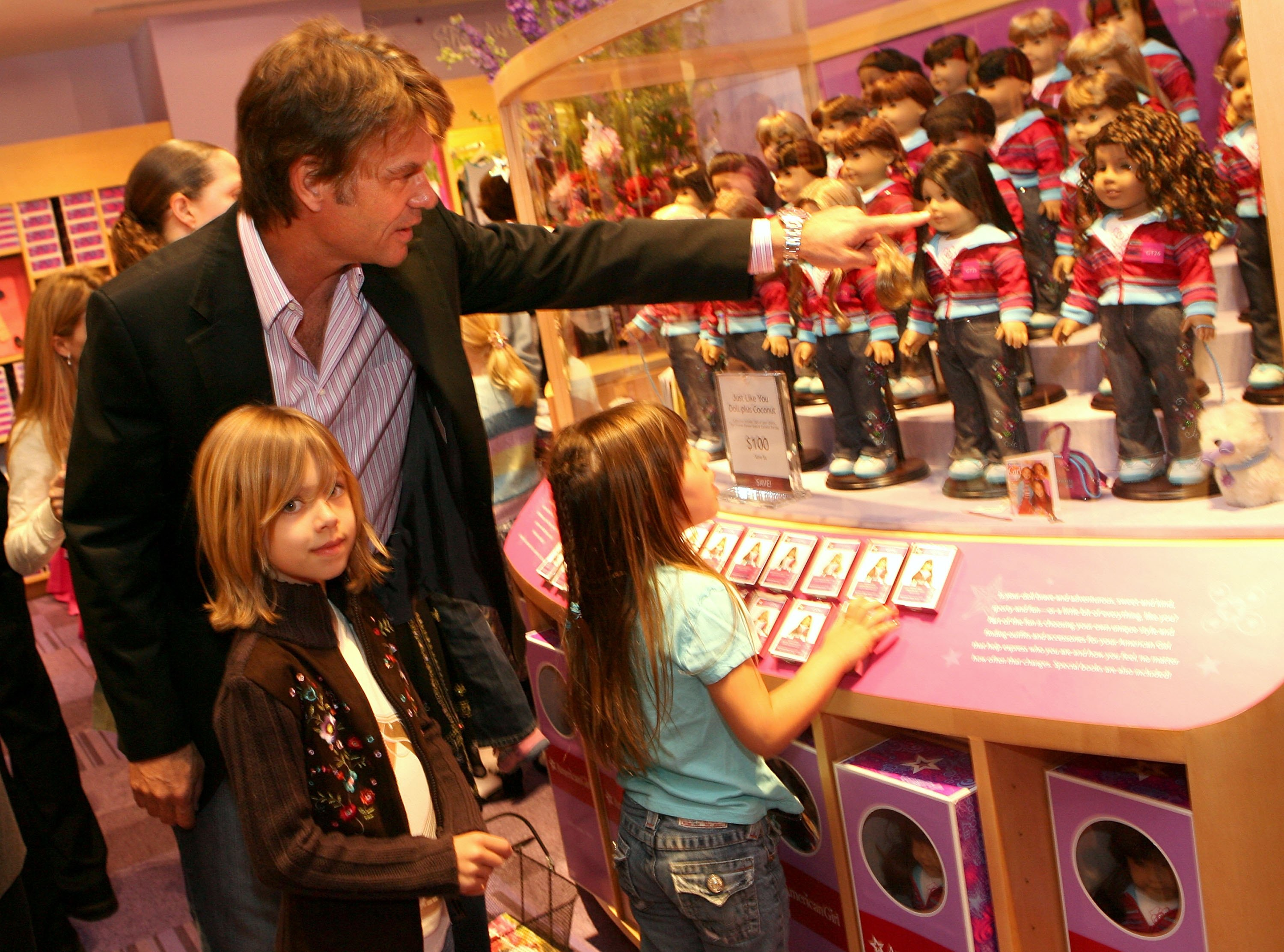 American Girl Store Opening - Inside