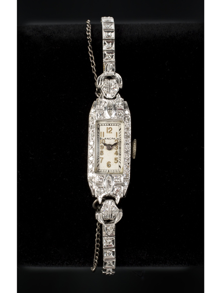Marilyn Monroe's platinum-and-diamond cocktail watch