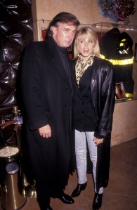 Donald Trump and Marla Maples Sighting - December 10, 1991