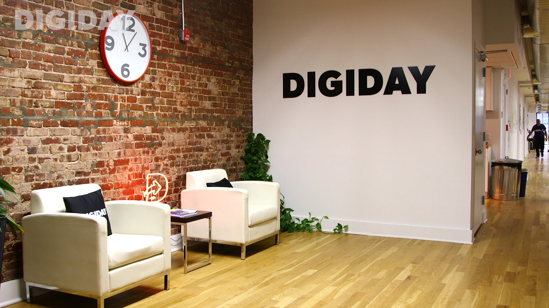 Digiday's office in New York