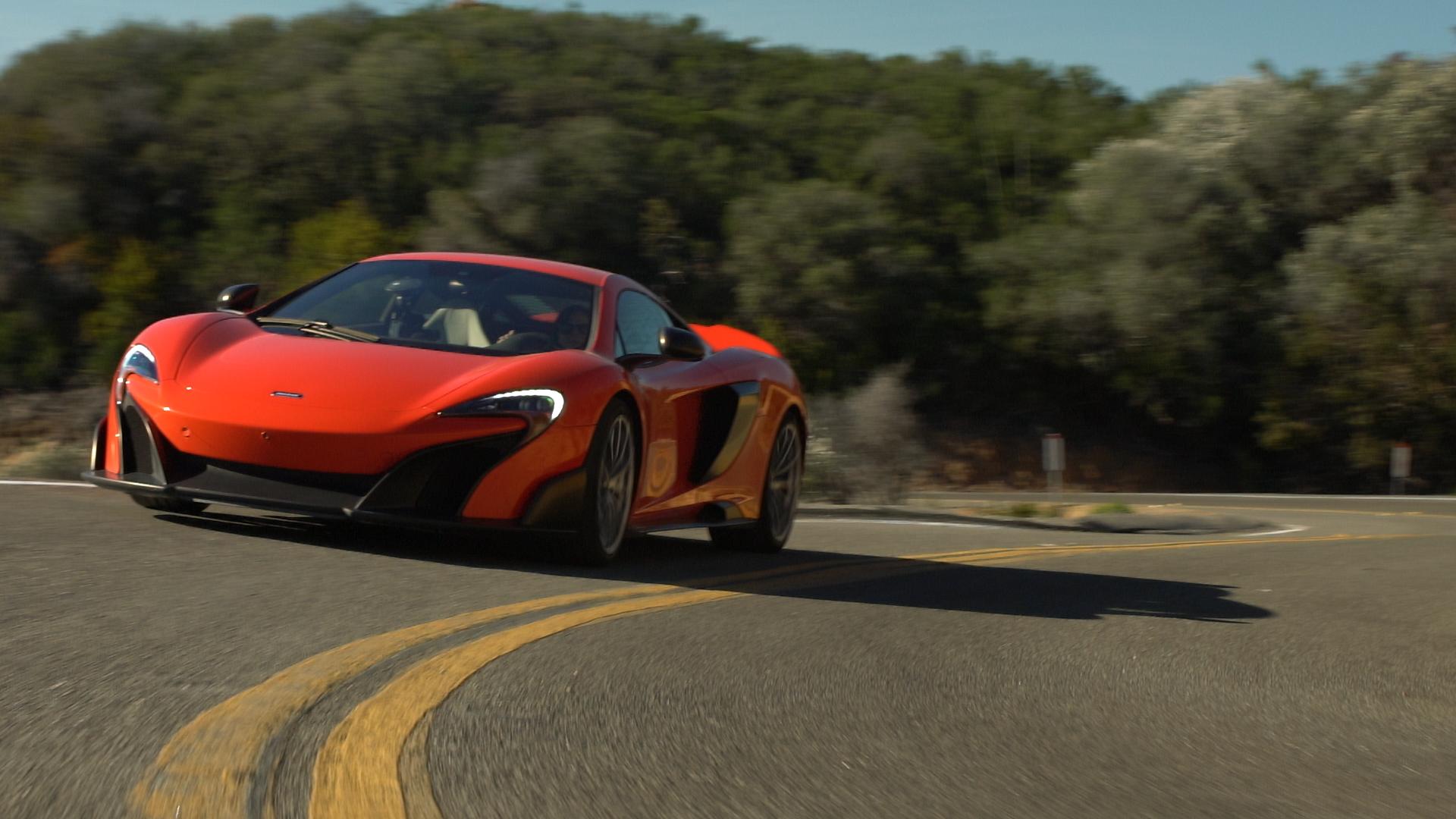 McLaren's 675LT in its natural habitat: curves.
