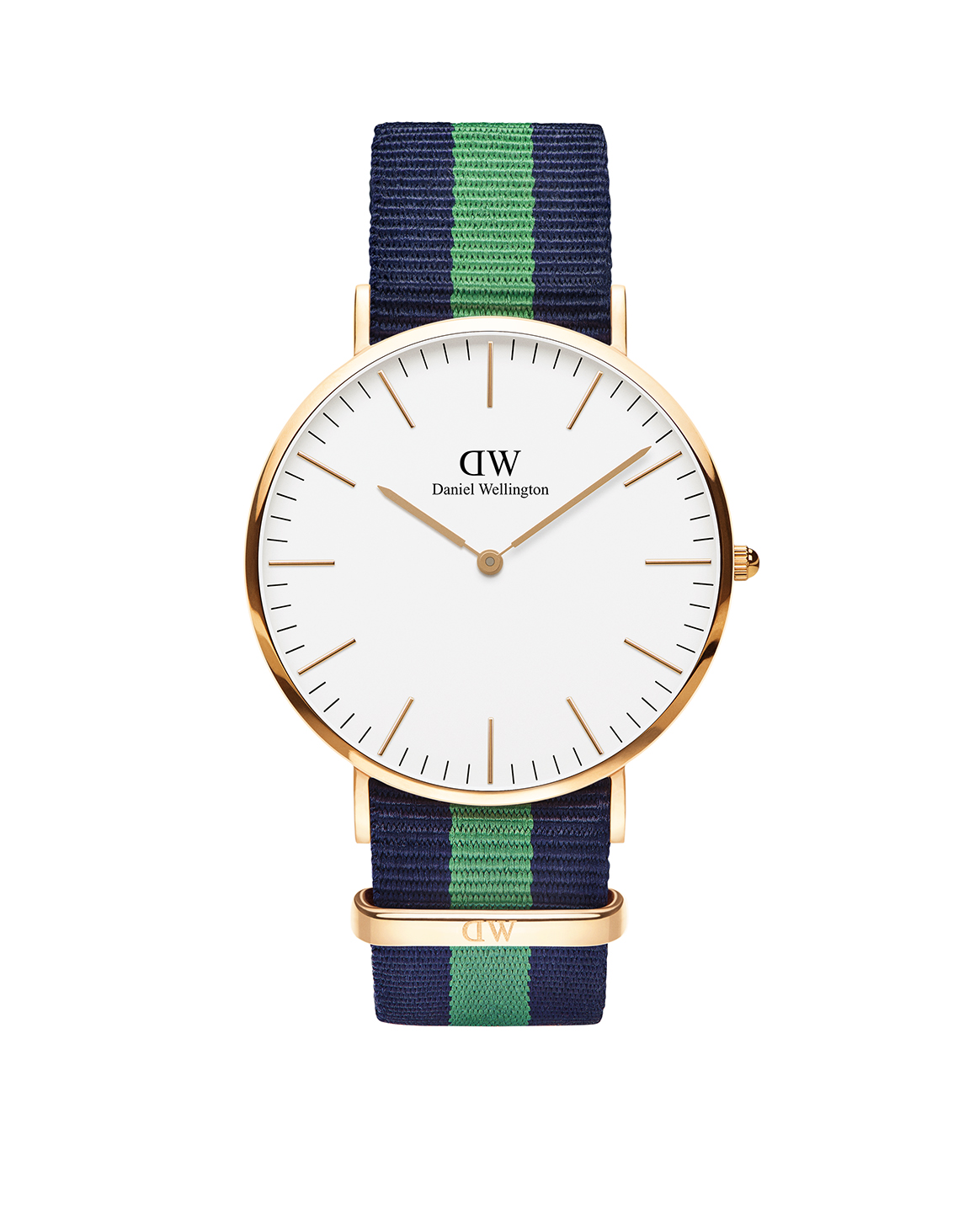 Classic Warwick watch, with NATO strap, from Daniel Wellington