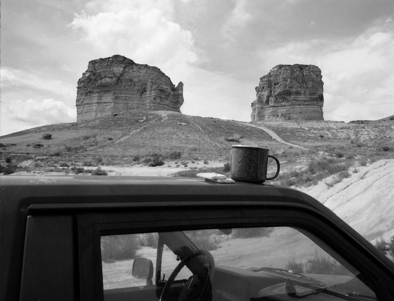 Tea Break at Teapot Rock