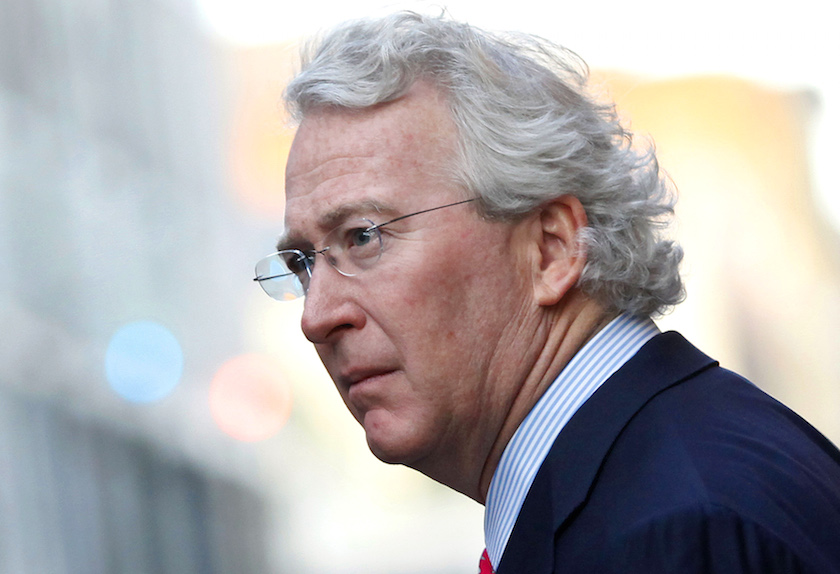 CEO, Chairman, and Co-founder of Chesapeake Energy Corporation McClendon walks through the French Quarter in New Orleans, Louisiana