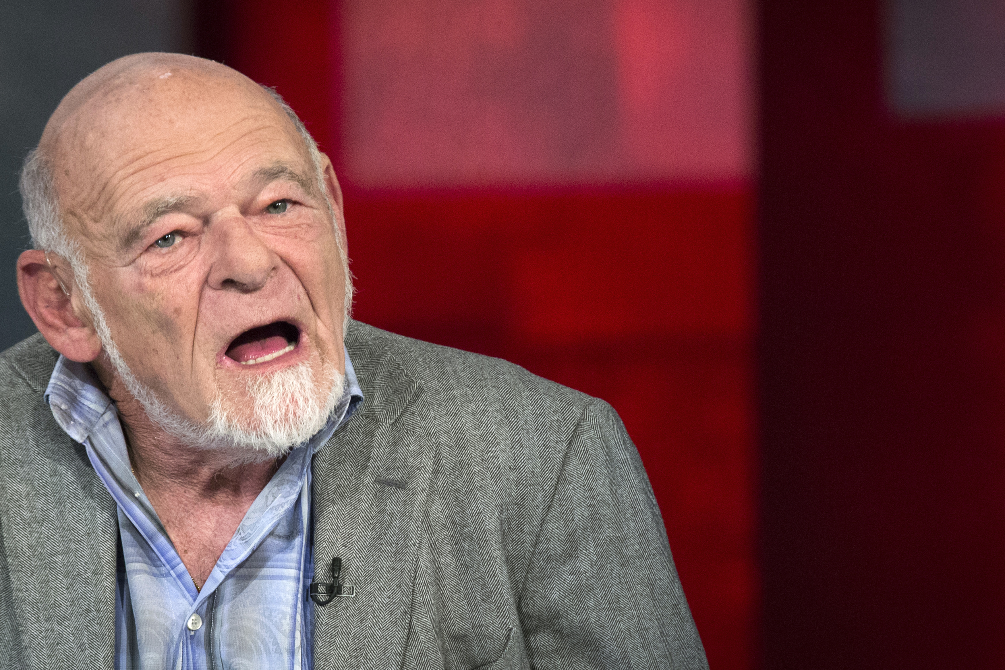 Sam Zell, chairman of Equity Group Investments, appears on a Fox Business Network's show in New York