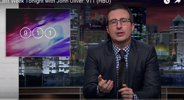 John Oliver 911 Calls