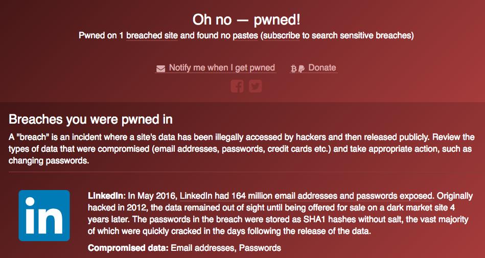 pwned screenshot