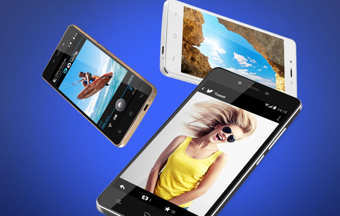 Inexpensive smartphones from BLU