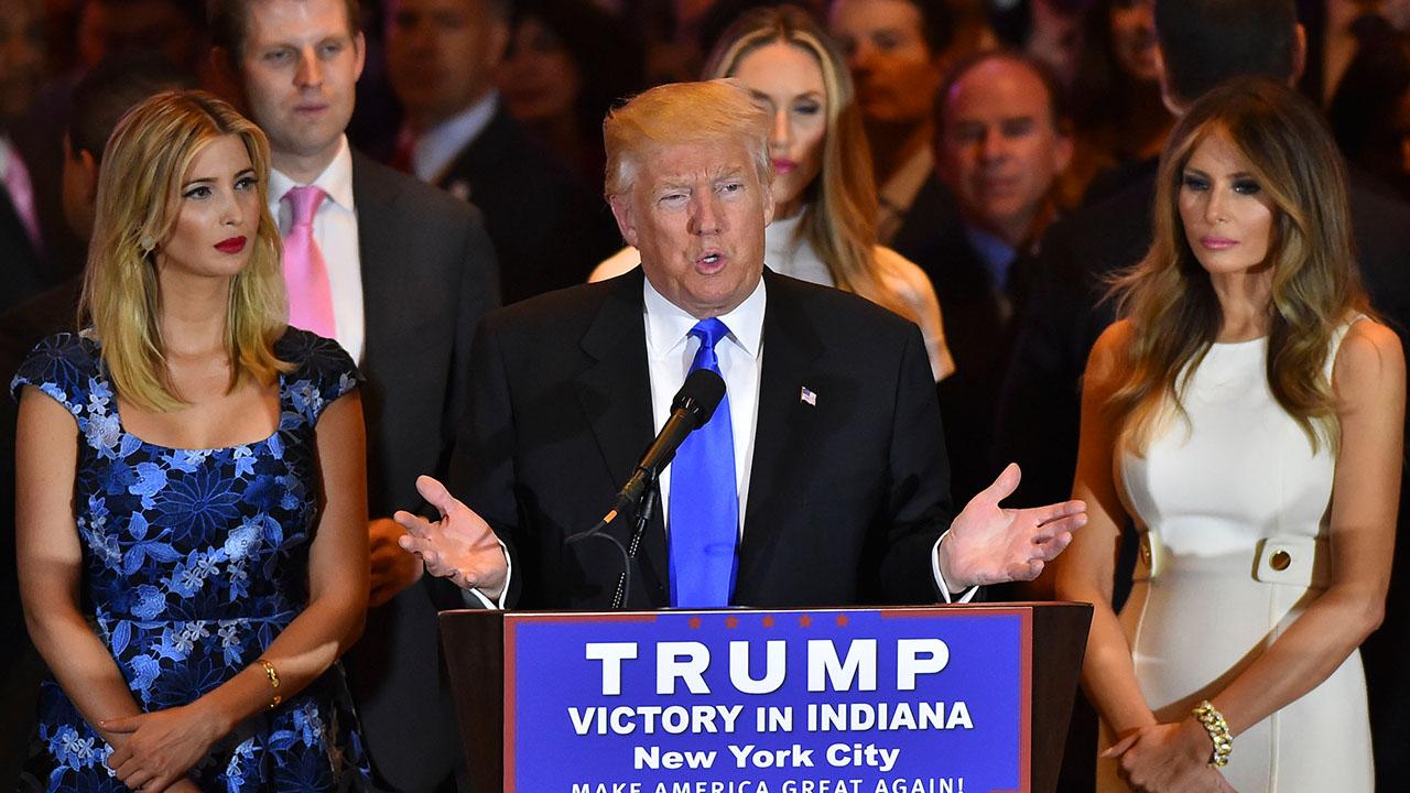 Presumptive Republican presidential nominee Donald Trump