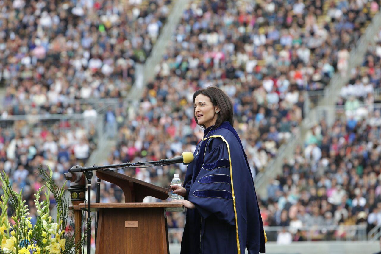Transcript: Sheryl Sandberg at the UC Berkley 2016