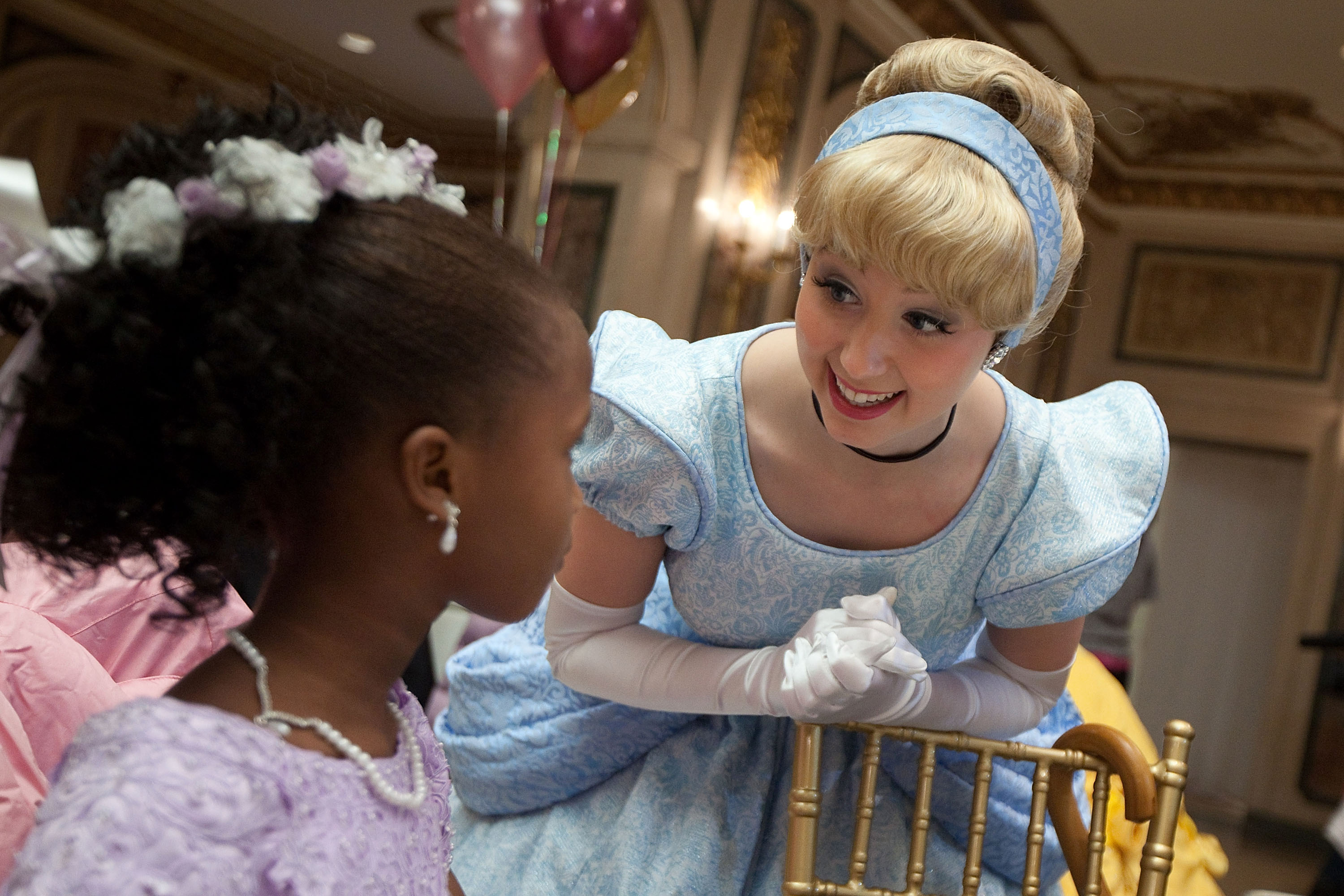 """Disney On Ice Presents: Princess Wishes"" Hosts A Tea Party For The Garden Of Dreams Foundation"