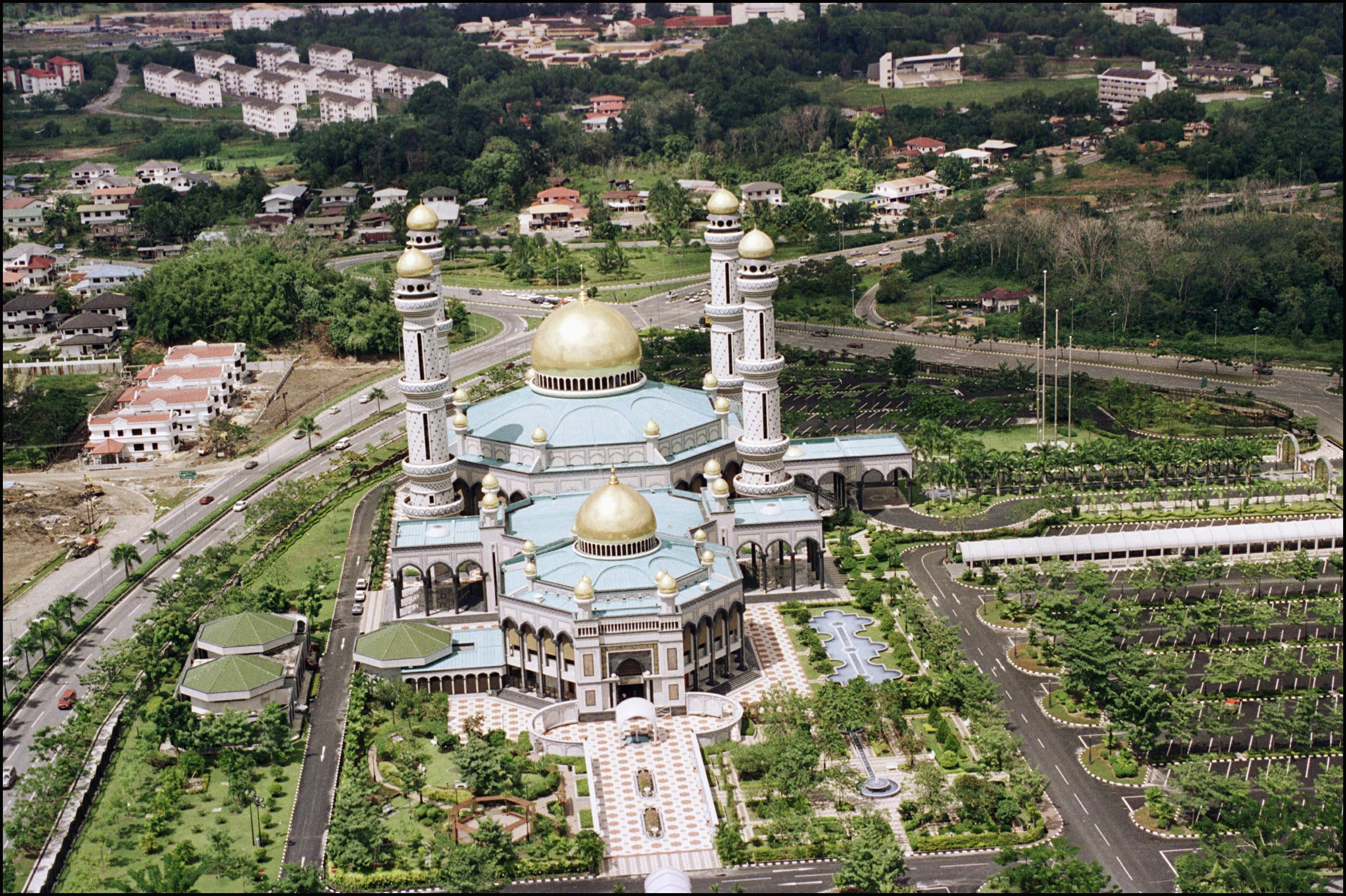 Brunei Celebrates The Fifty-Seventh Birthday Of Its Sultan Hassanal Bolkiah In Brunei Darussalam On July 01, 2003.