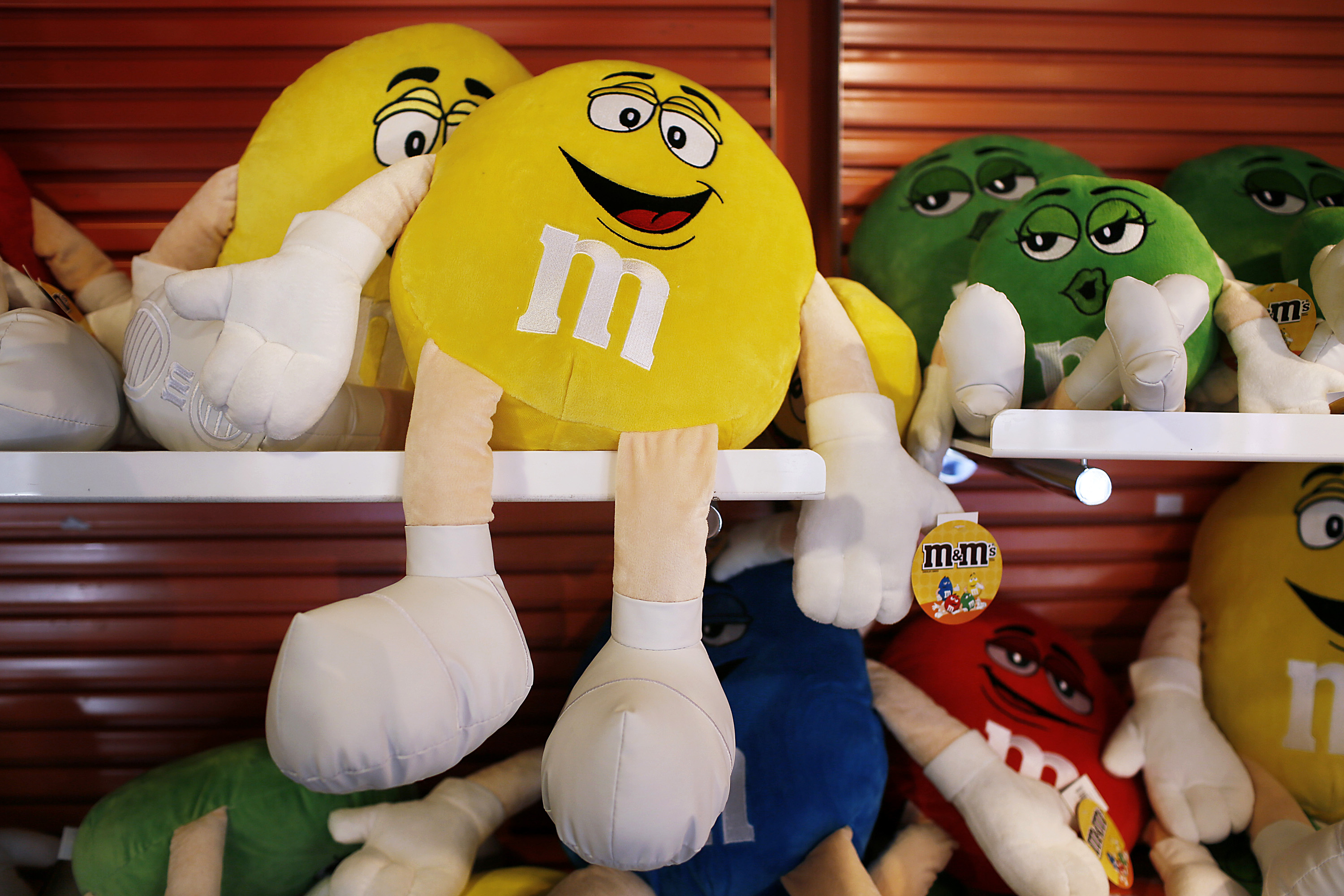 General Views From Inside of The M&M's World Store