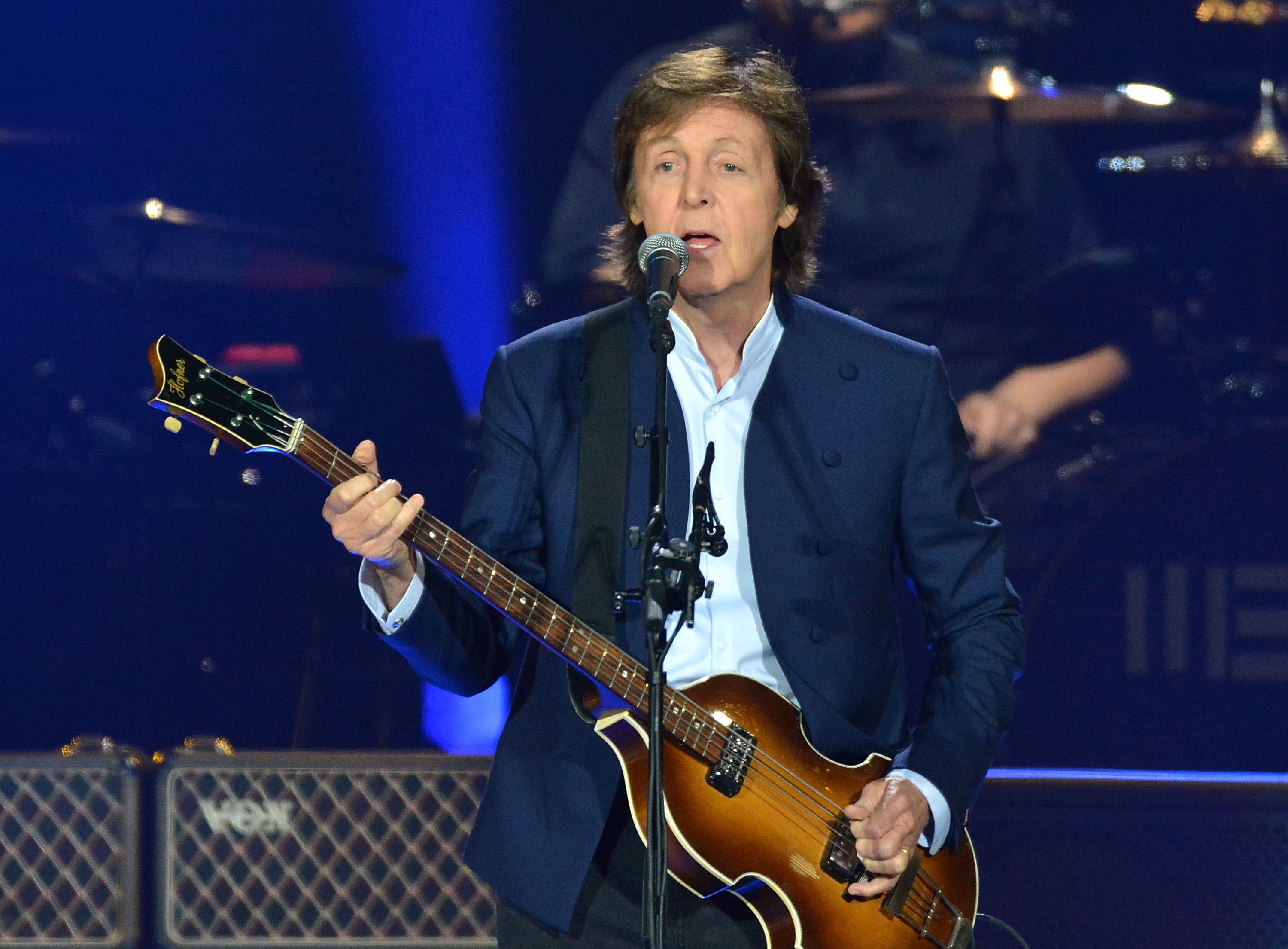 Paul McCartney Performs At O2 Arena In London