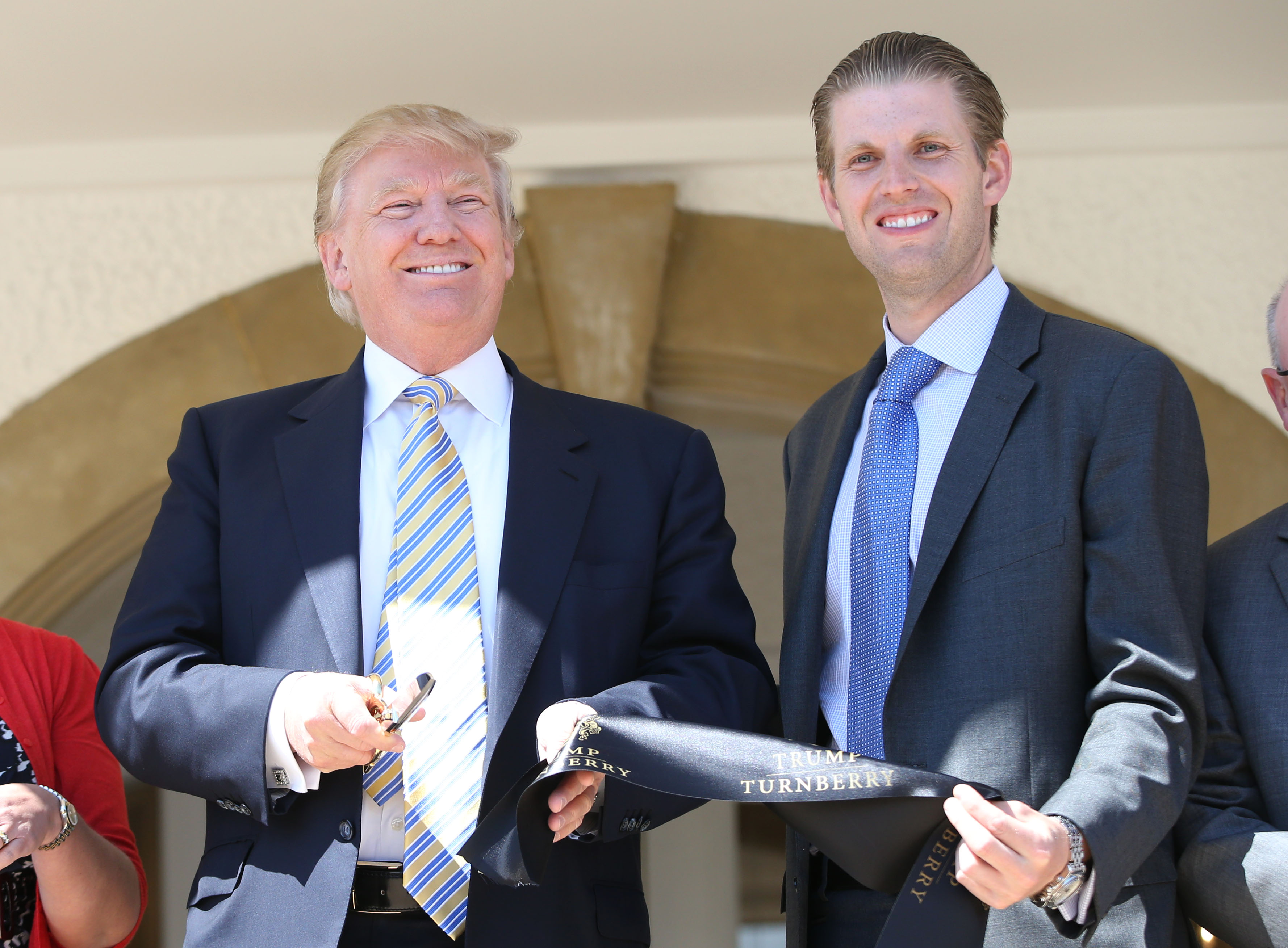 Donald Trump Visits Turnberry Golf Club