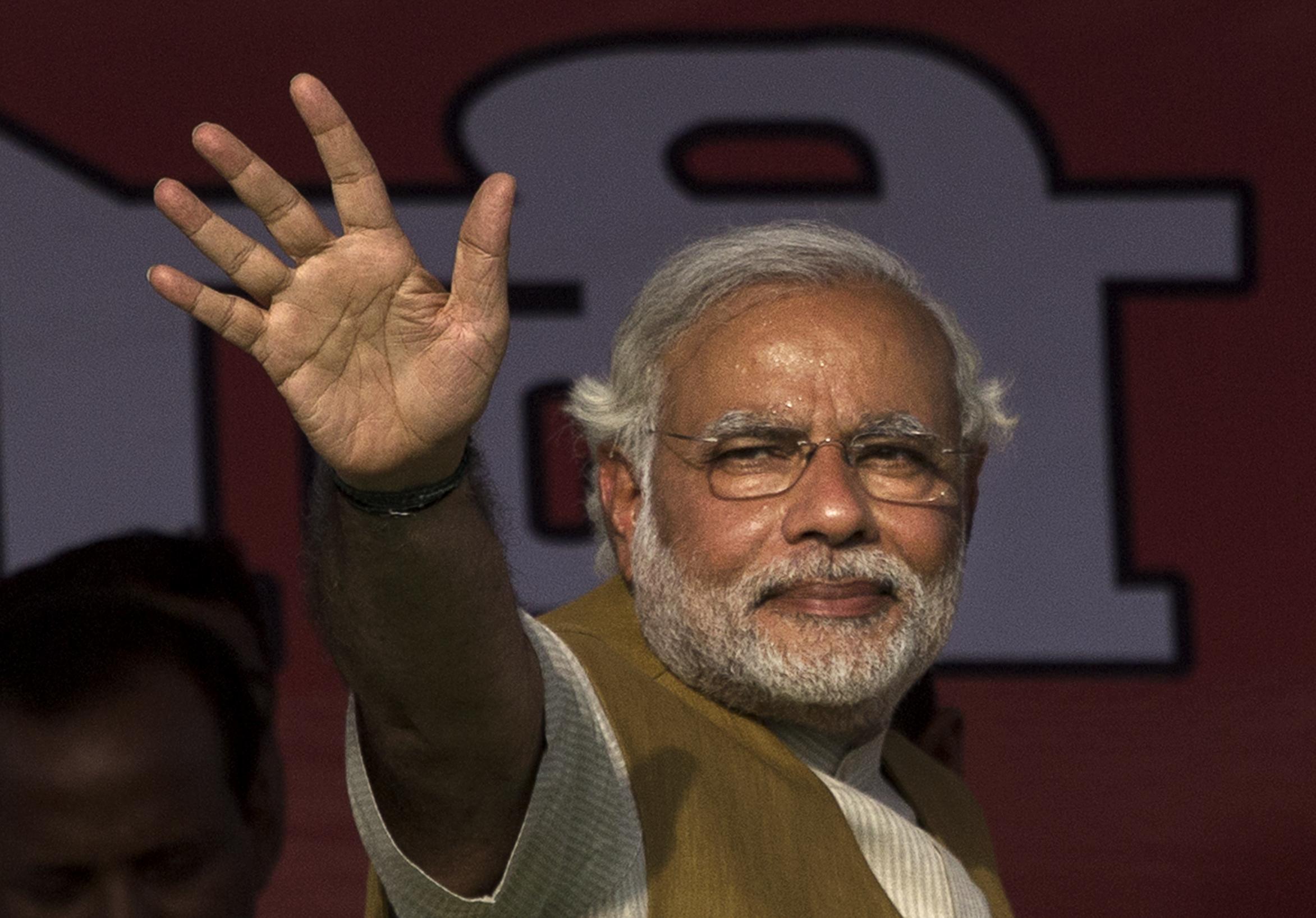 BJP's Narendra Modi Campaigns In Punjab