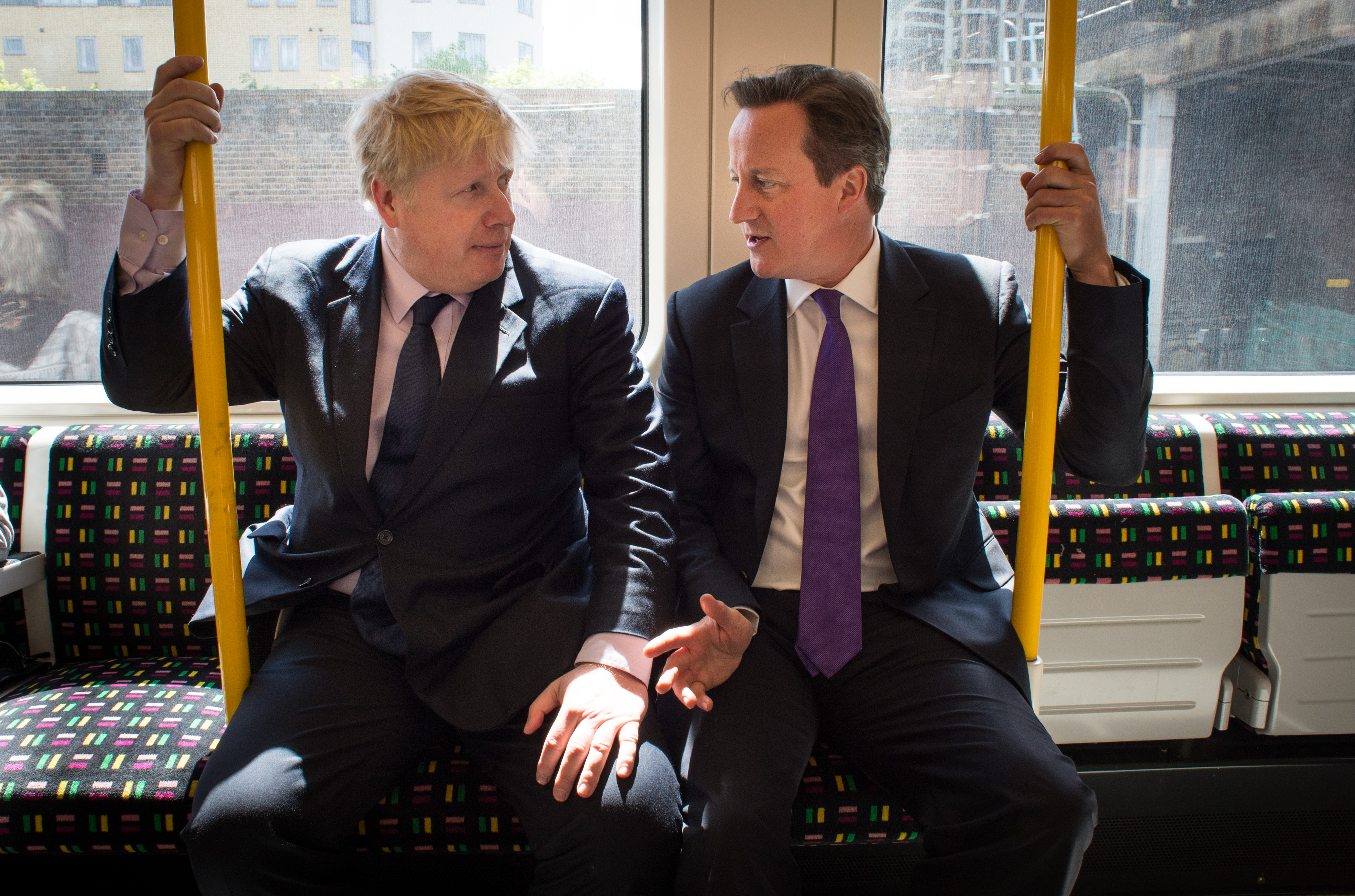 David Cameron Takes To The Campaign Trail