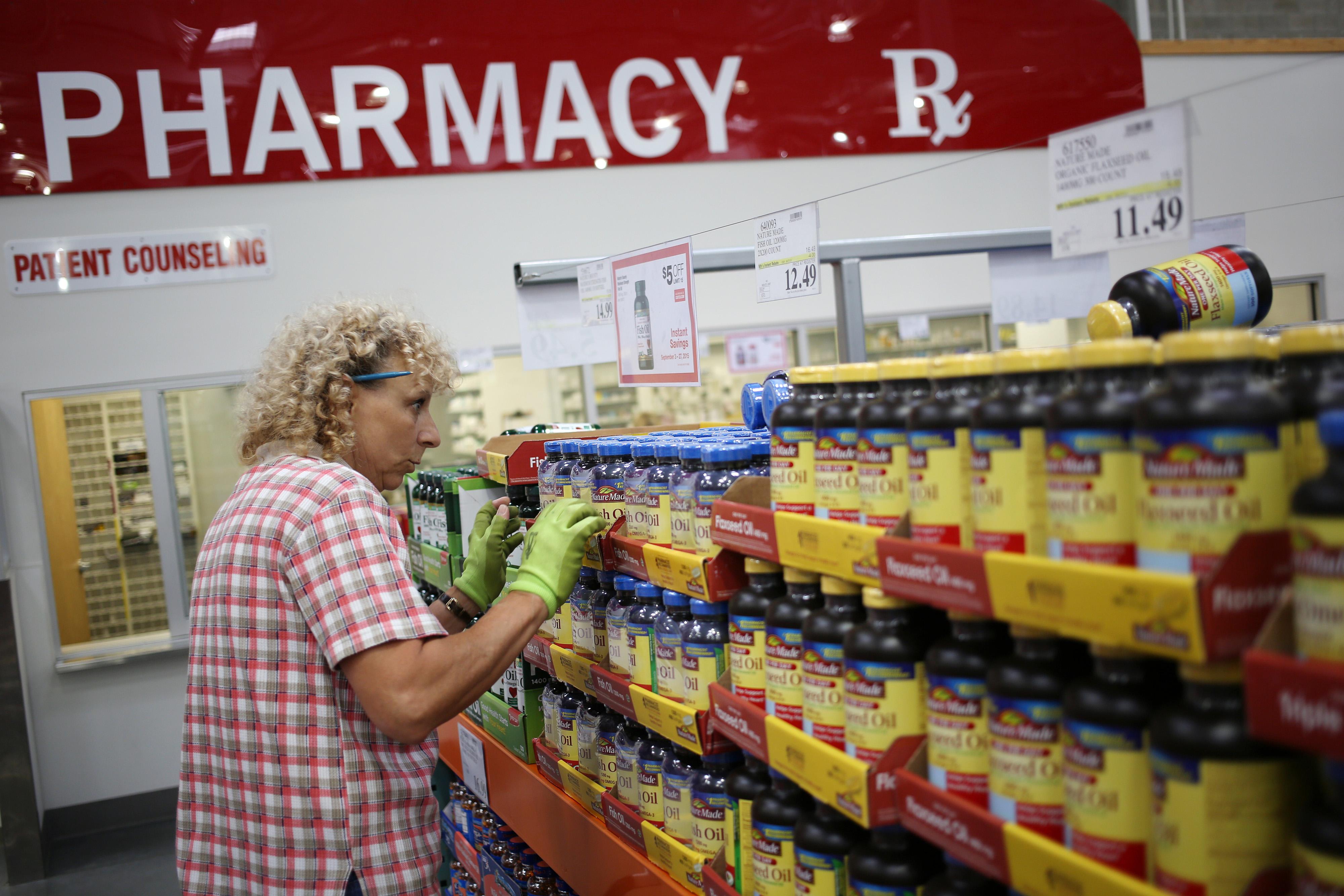 Inside A Costco Wholesale Co. Store Ahead of Earnings Figures