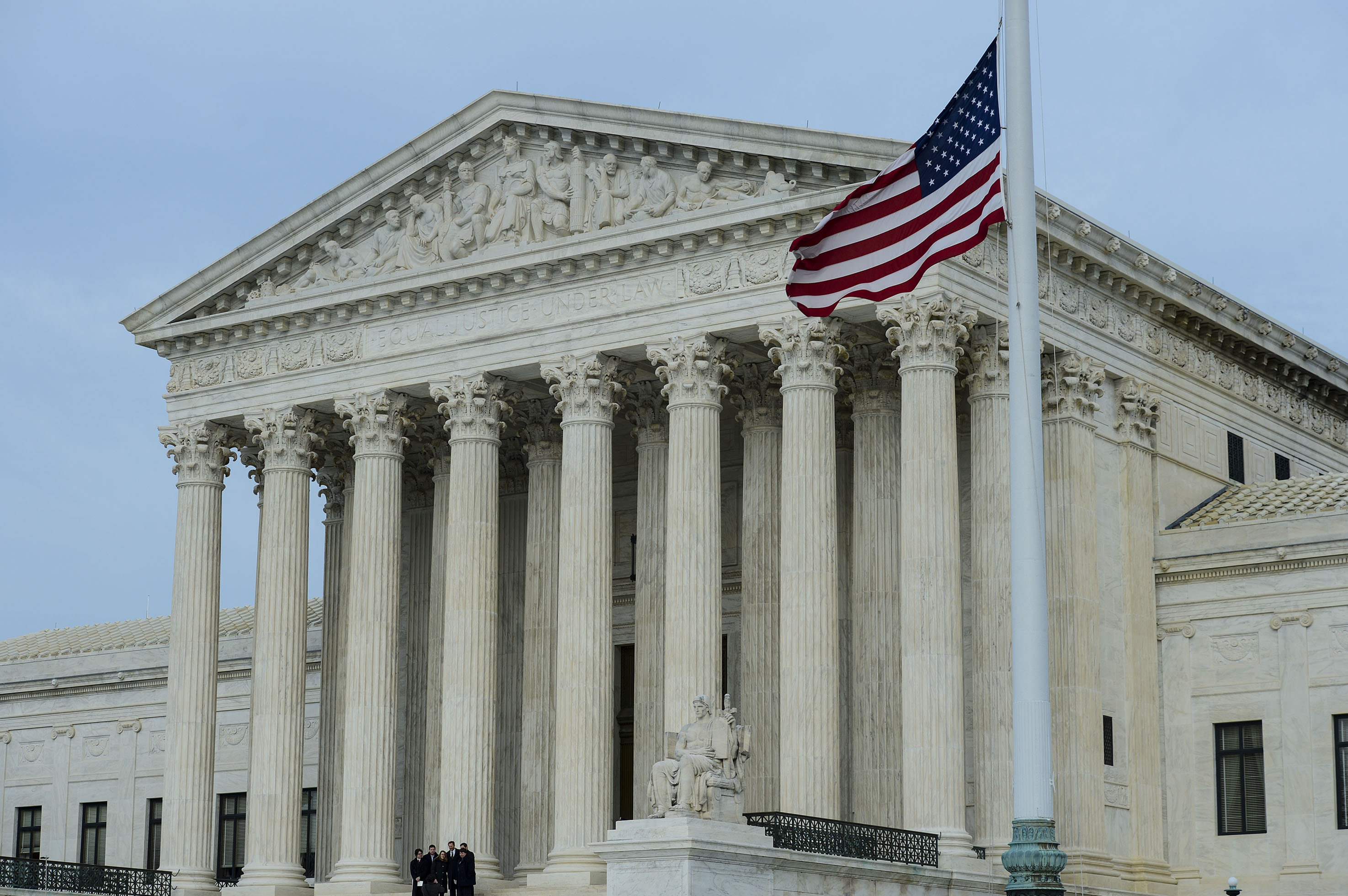 Justice Antonin Scalia's Body Lies in Repose At U.S. Supreme Court
