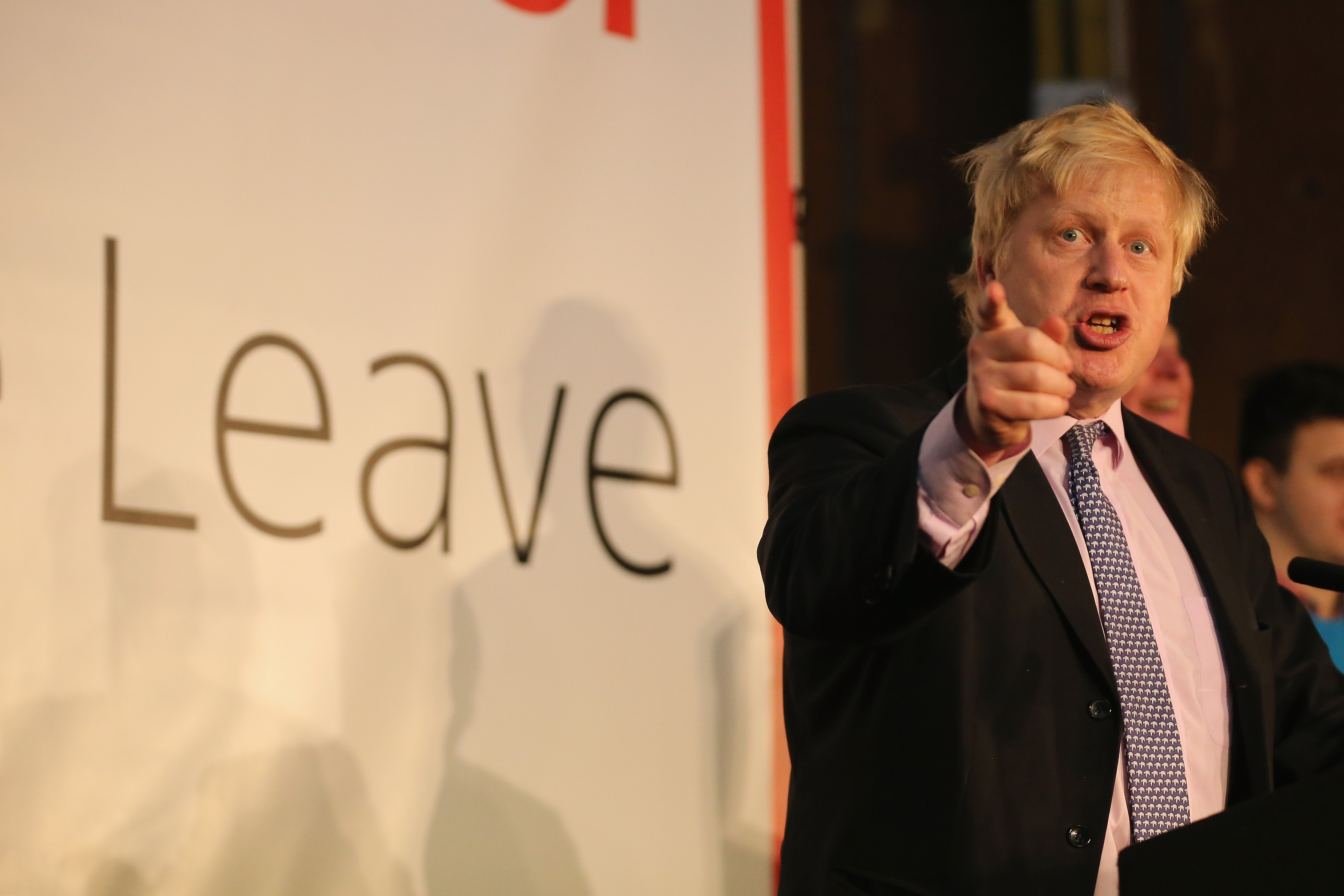 Boris Johnson Leads 48Hour Brexit Blitz Of Campaigning