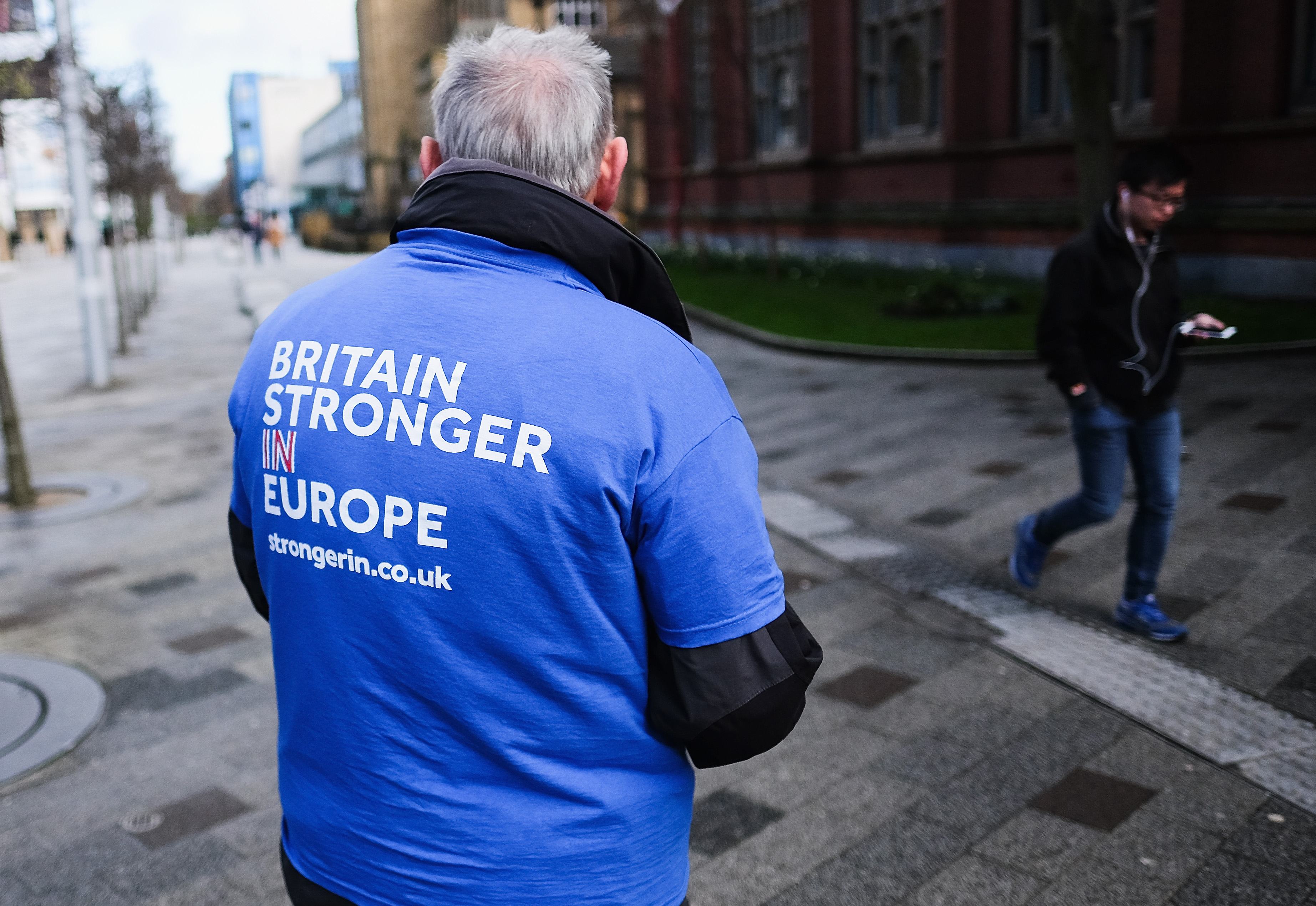 Stronger In Campaign Bus Continues The Brighter Future Tour
