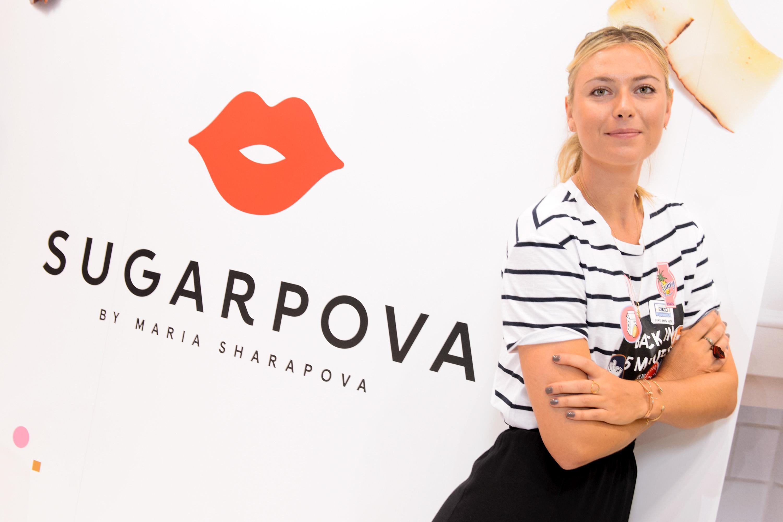 Maria Sharapova Sugarpova Chocolate Launch At The Chicago Sweets & Snacks Expo