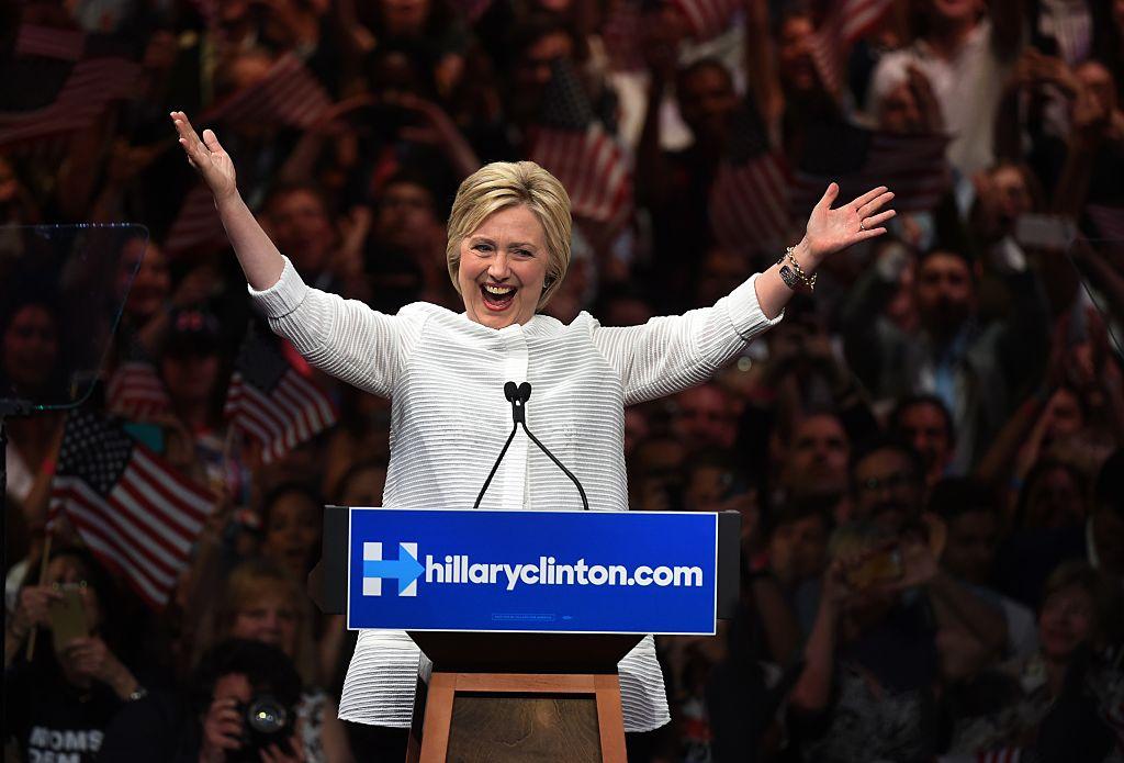 US-VOTE-DEMOCRATS-HILLARY