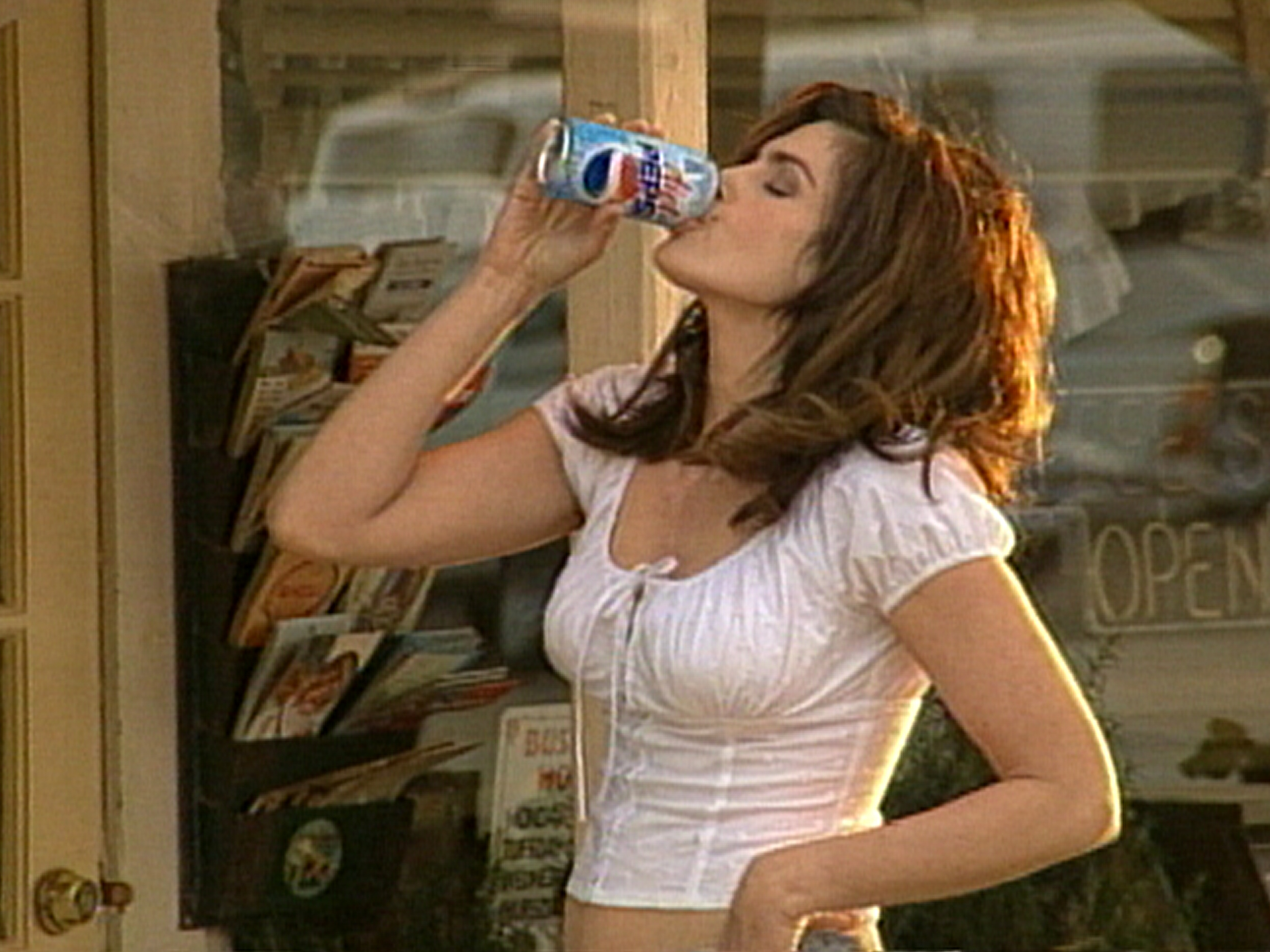Cindy Crewford To Star In New Pepsi Commercial