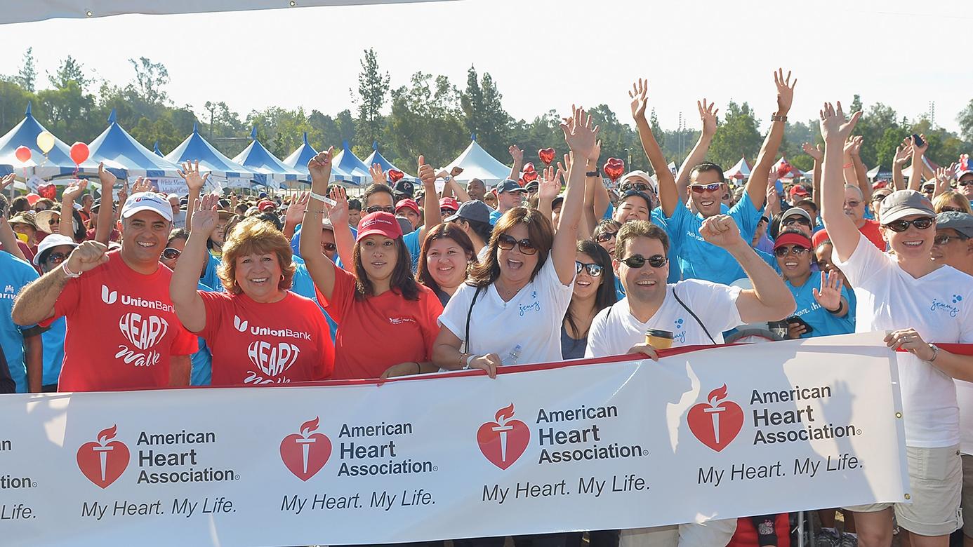 Jenny Craig American Heart Association Heart Walk With Valerie Bertinelli