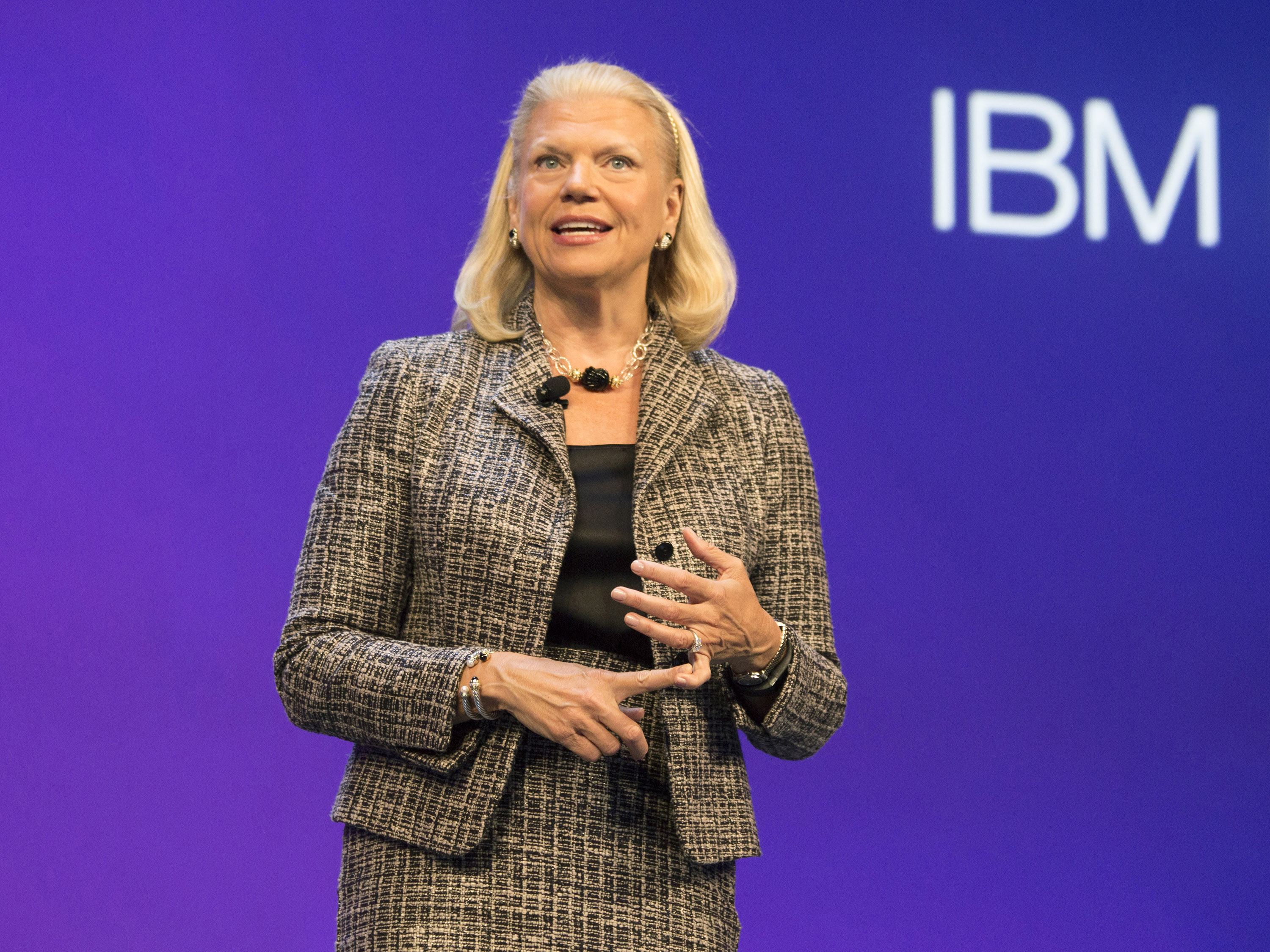 IBM CEO DISCUSSES BUSINESS PARTNER ROLE IN THE COGNITIVE ERA