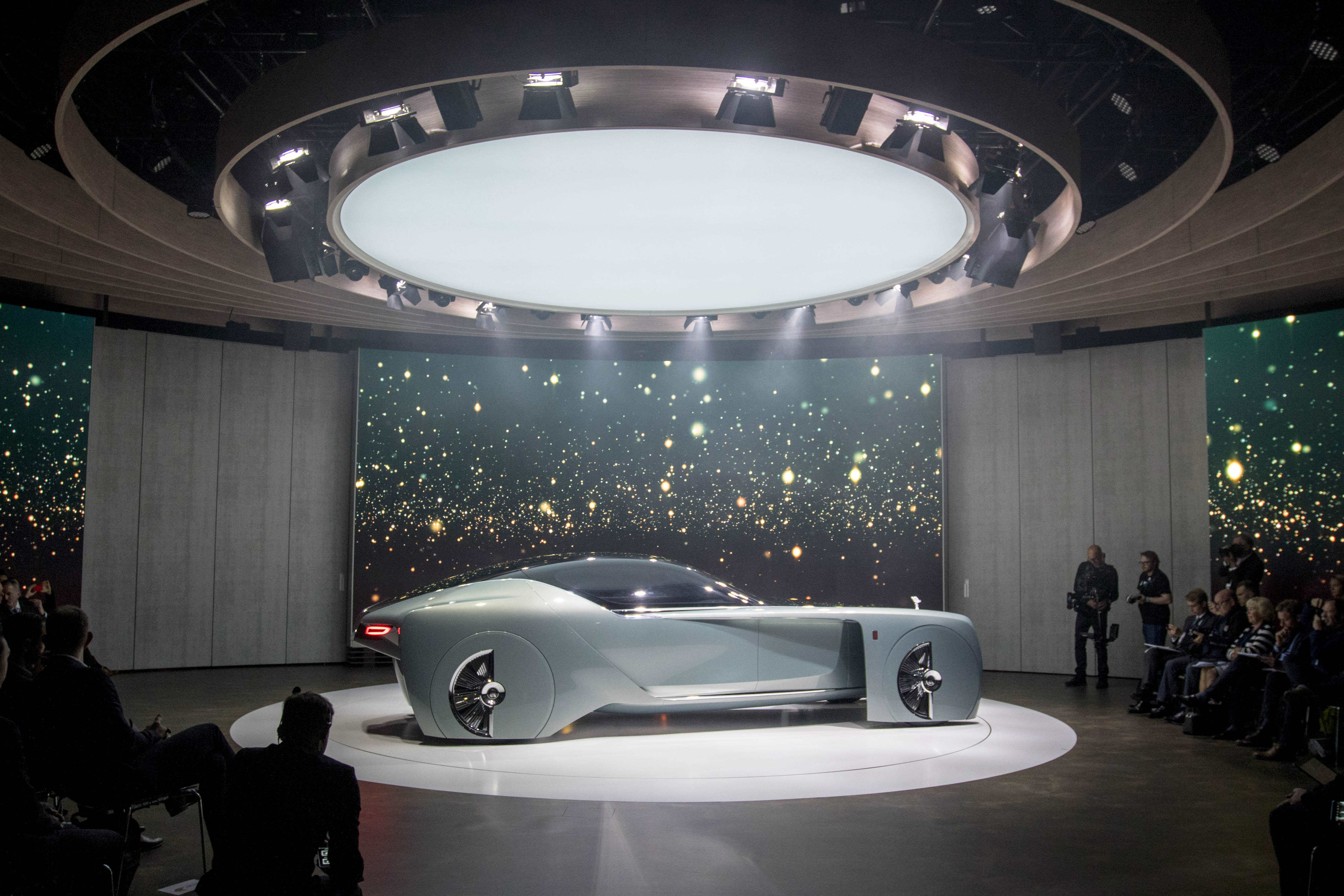 Rolls-Royce and Mini launch - London
