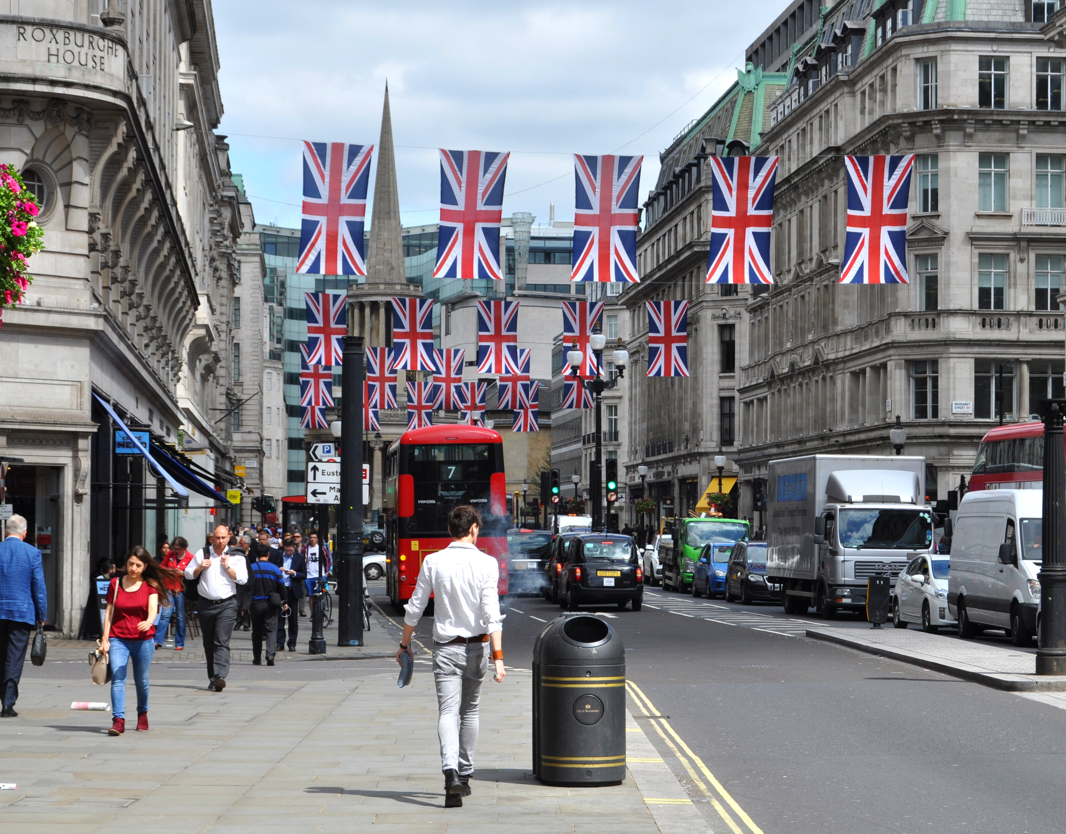 campaign, UK Brexit, referendum, Regent Street