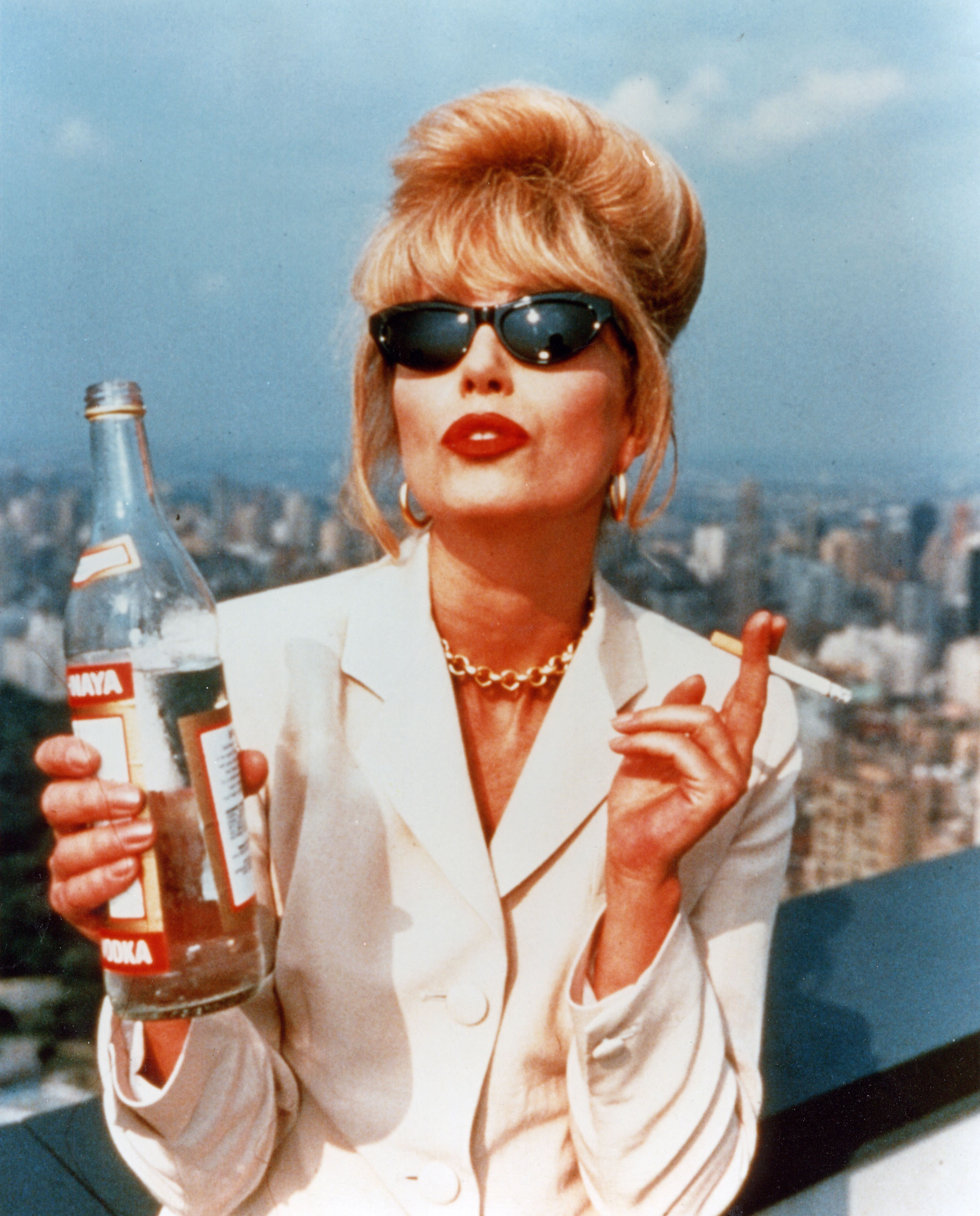 ABSOLUTELY  FABULOUS - BBC 1992 comedy sitcom with Joanna Lumley