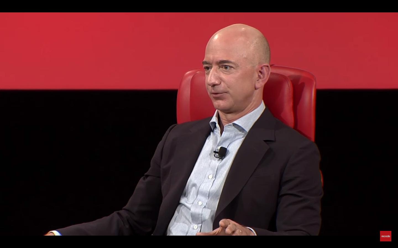 Amazon CEO Jeff Bezos at Code Conference 2016