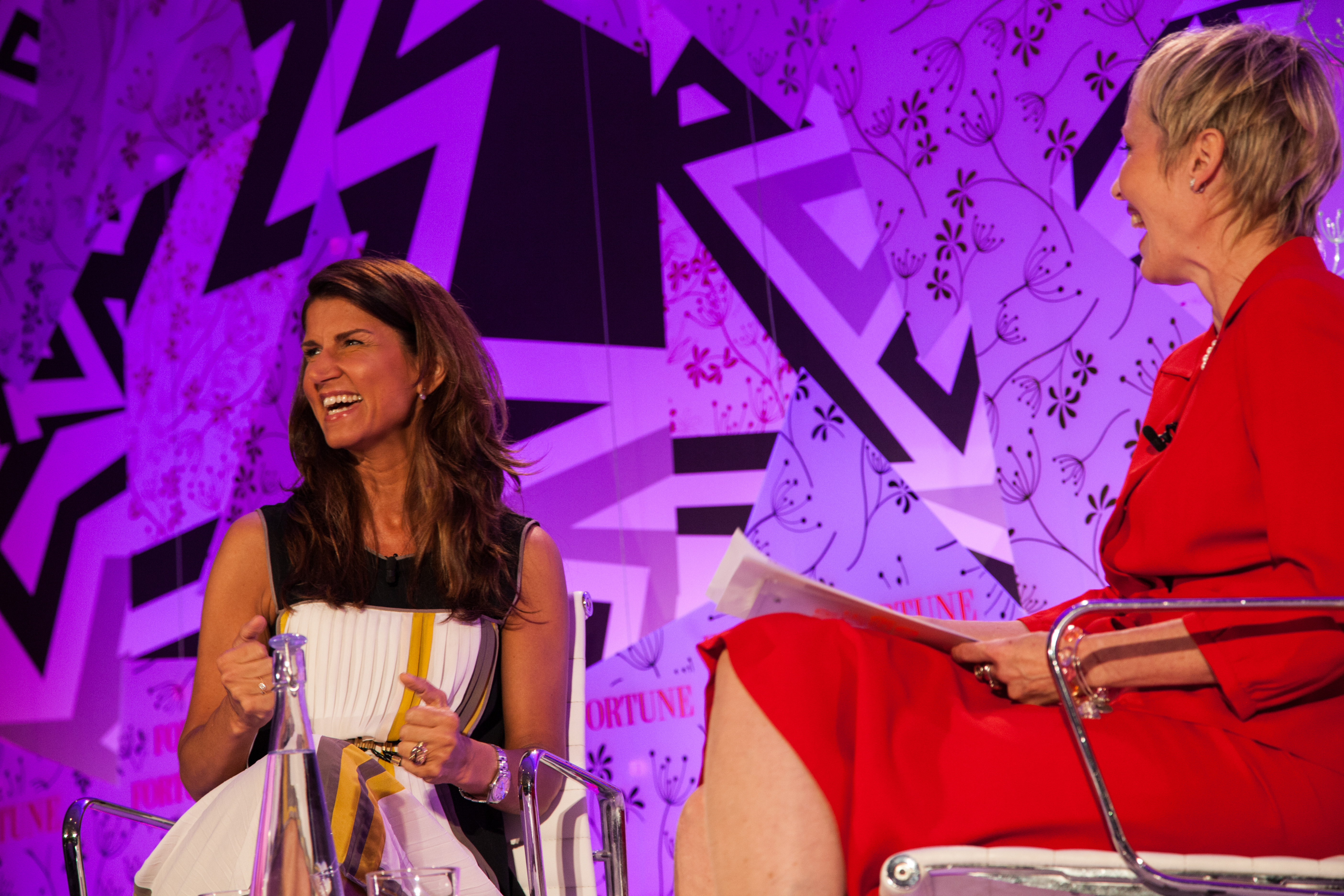 Yonca Brunini of Google talked with moderator Judith Bogner at Fortune's MPW Summit in London.