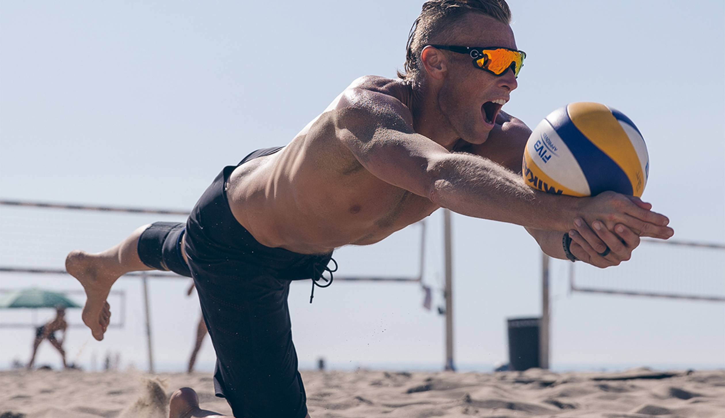 Lululemon is outfitting beach volleyball athletes at the Summer Olympics in Rio, including American athlete Casey Patterson (above).