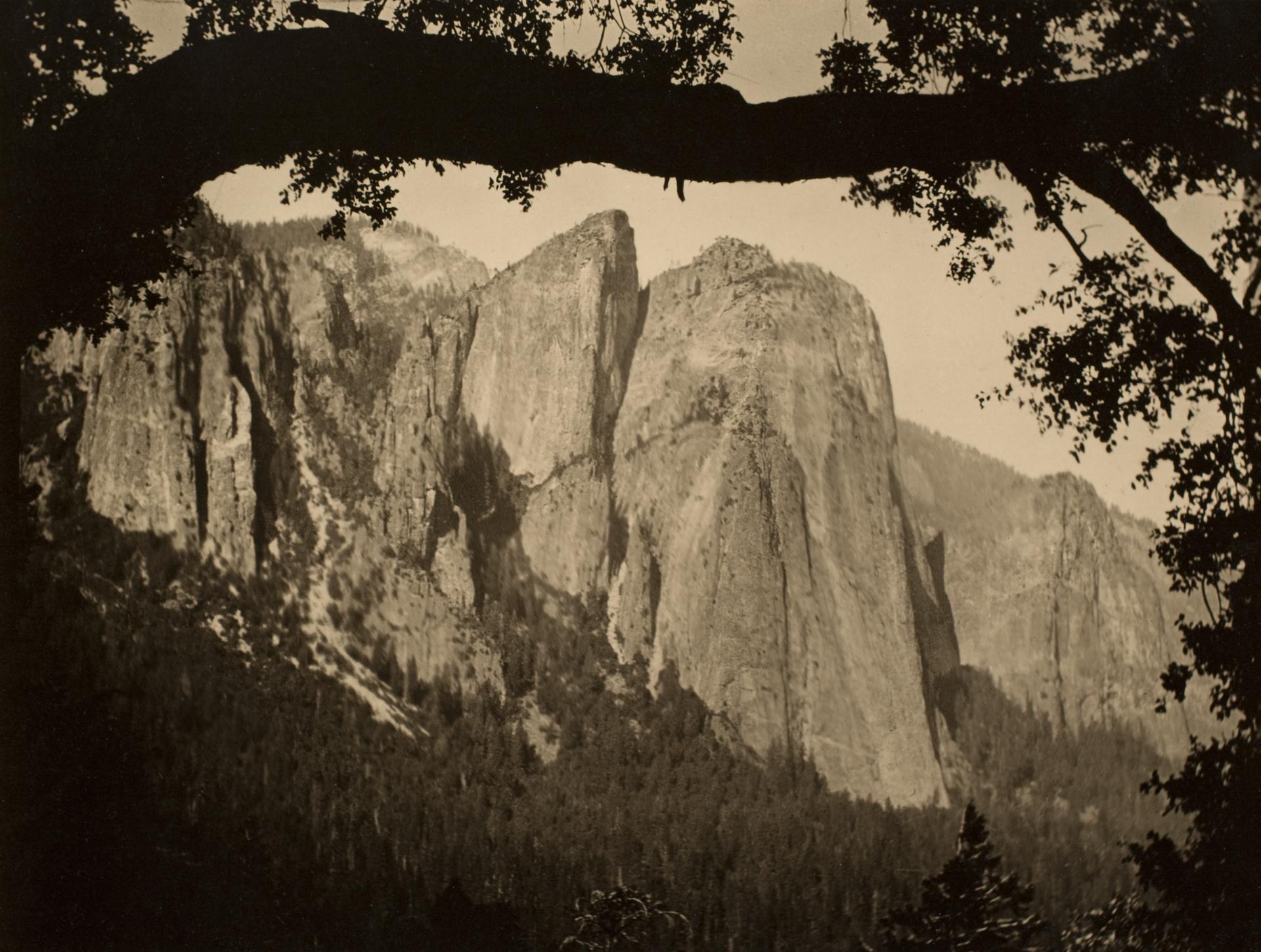 The Three Brothers, Yosemite, 1911, 1911